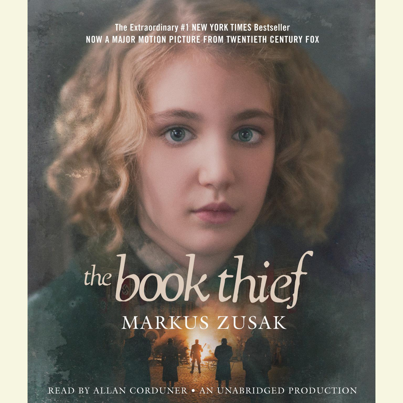 Printable The Book Thief Audiobook Cover Art