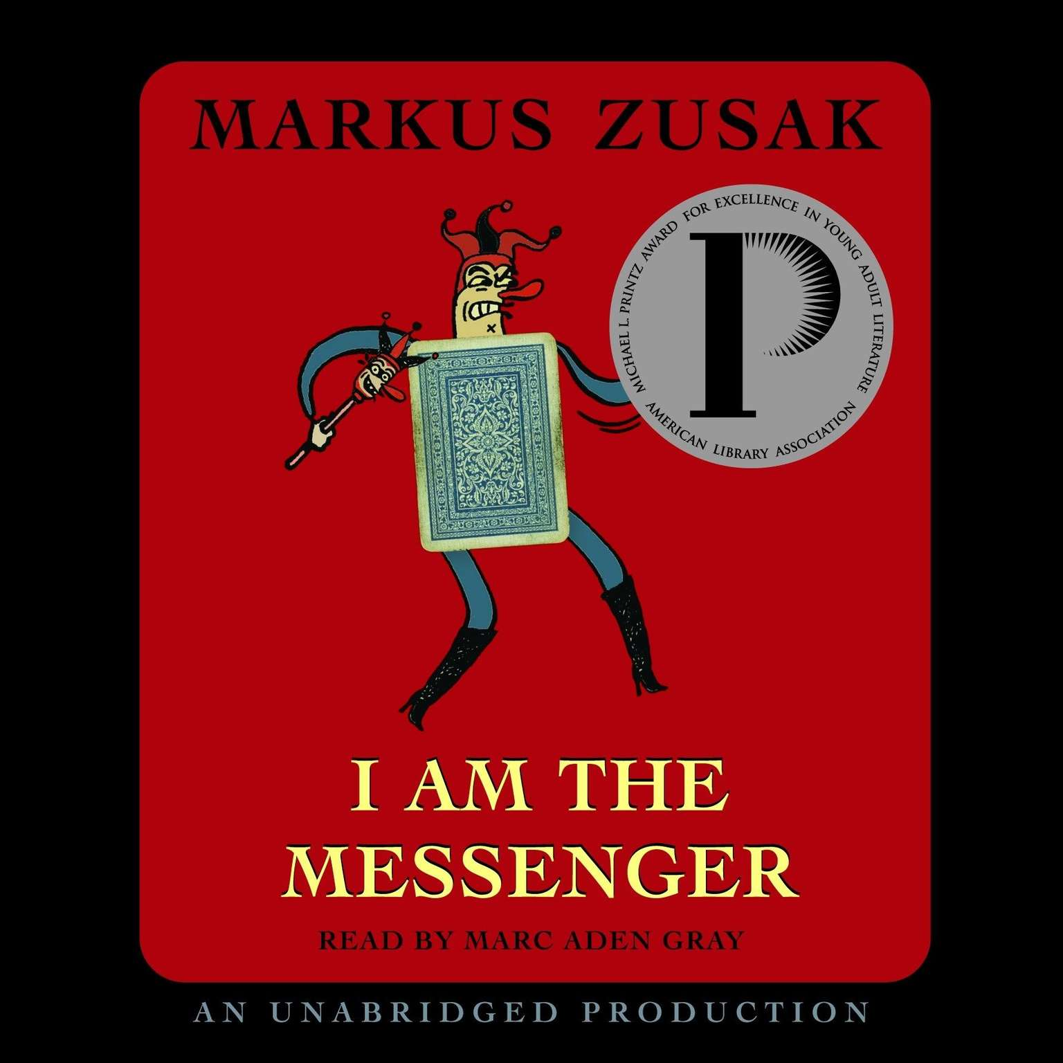 Printable I Am the Messenger Audiobook Cover Art