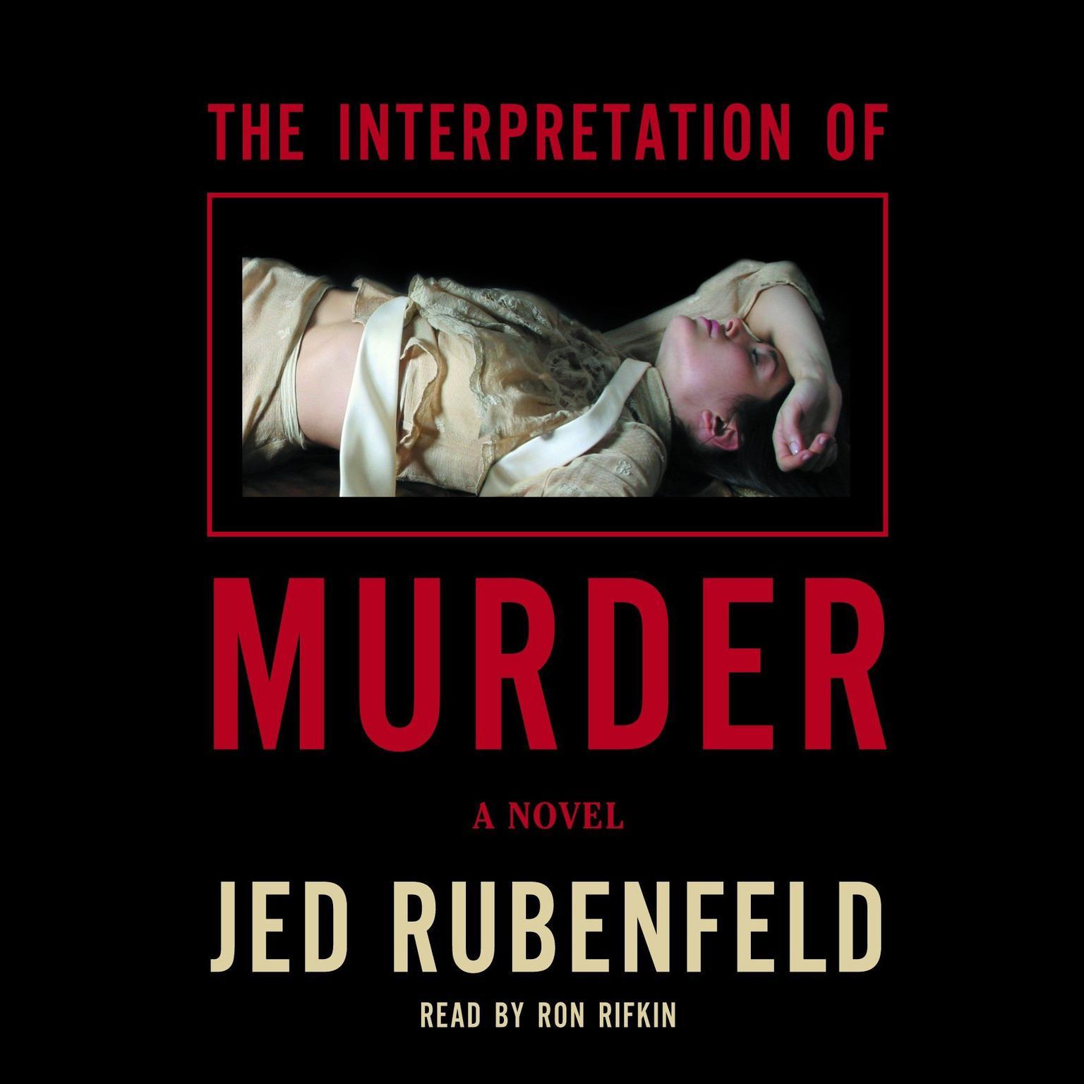 Printable The Interpretation of Murder Audiobook Cover Art