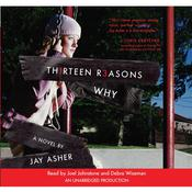Thirteen Reasons Why Audiobook, by Jay Asher