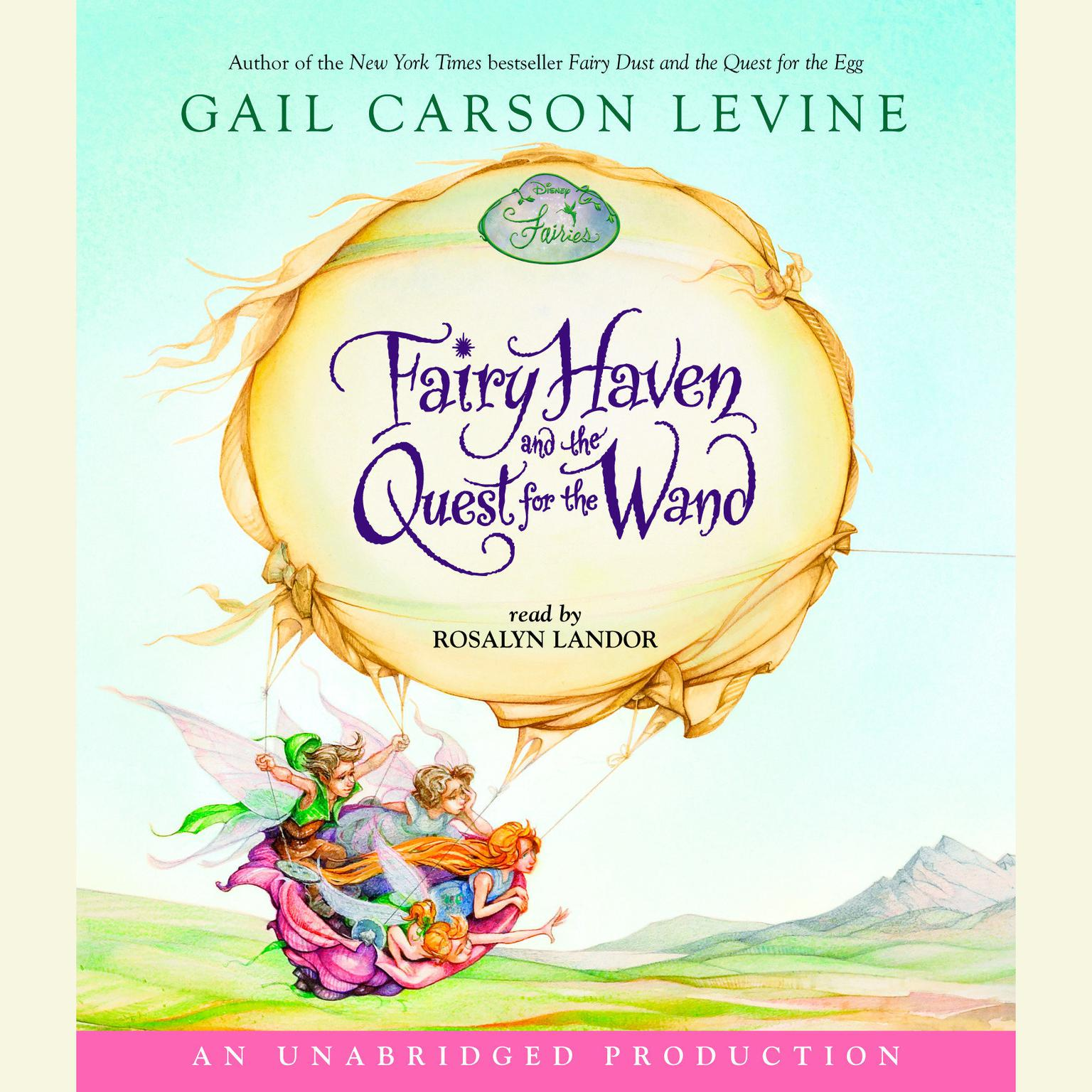 Printable Fairy Haven and the Quest for the Wand Audiobook Cover Art