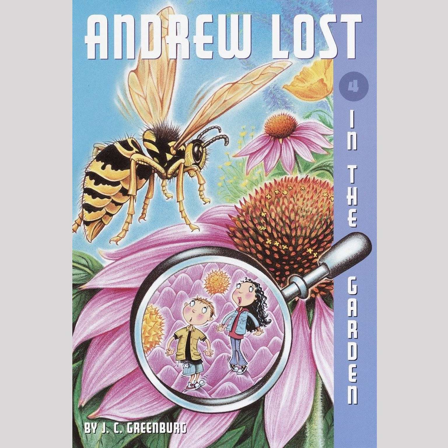 Printable In the Garden: Andrew Lost #4 Audiobook Cover Art