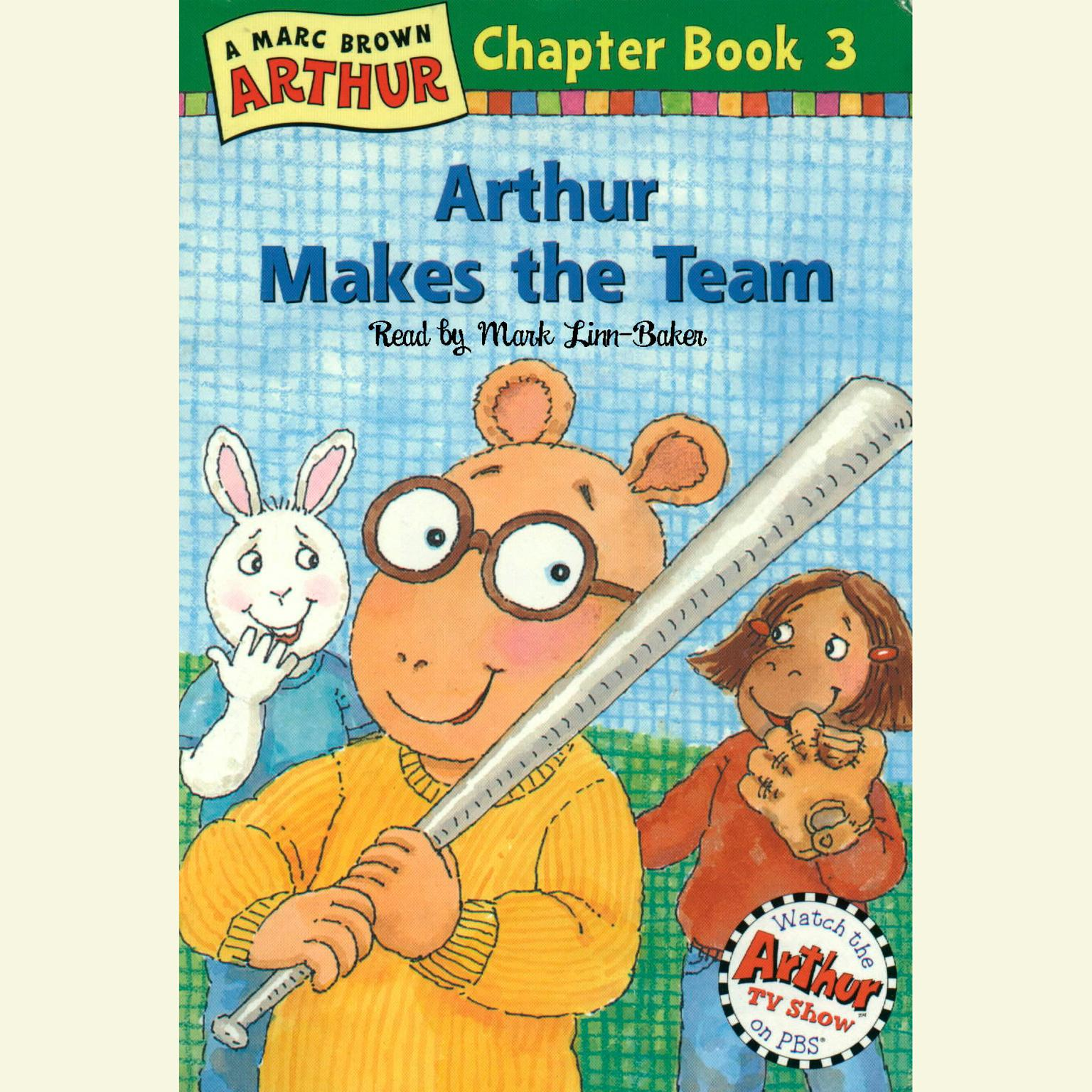Printable Arthur Makes the Team: A Marc Brown Arthur Chapter Book #3 Audiobook Cover Art
