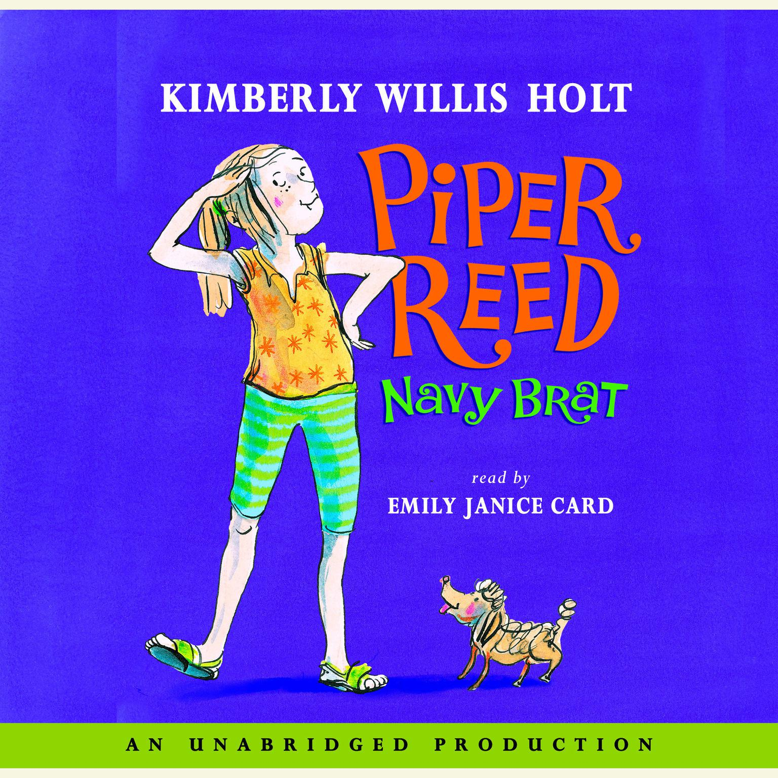 Printable Piper Reed, Navy Brat Audiobook Cover Art