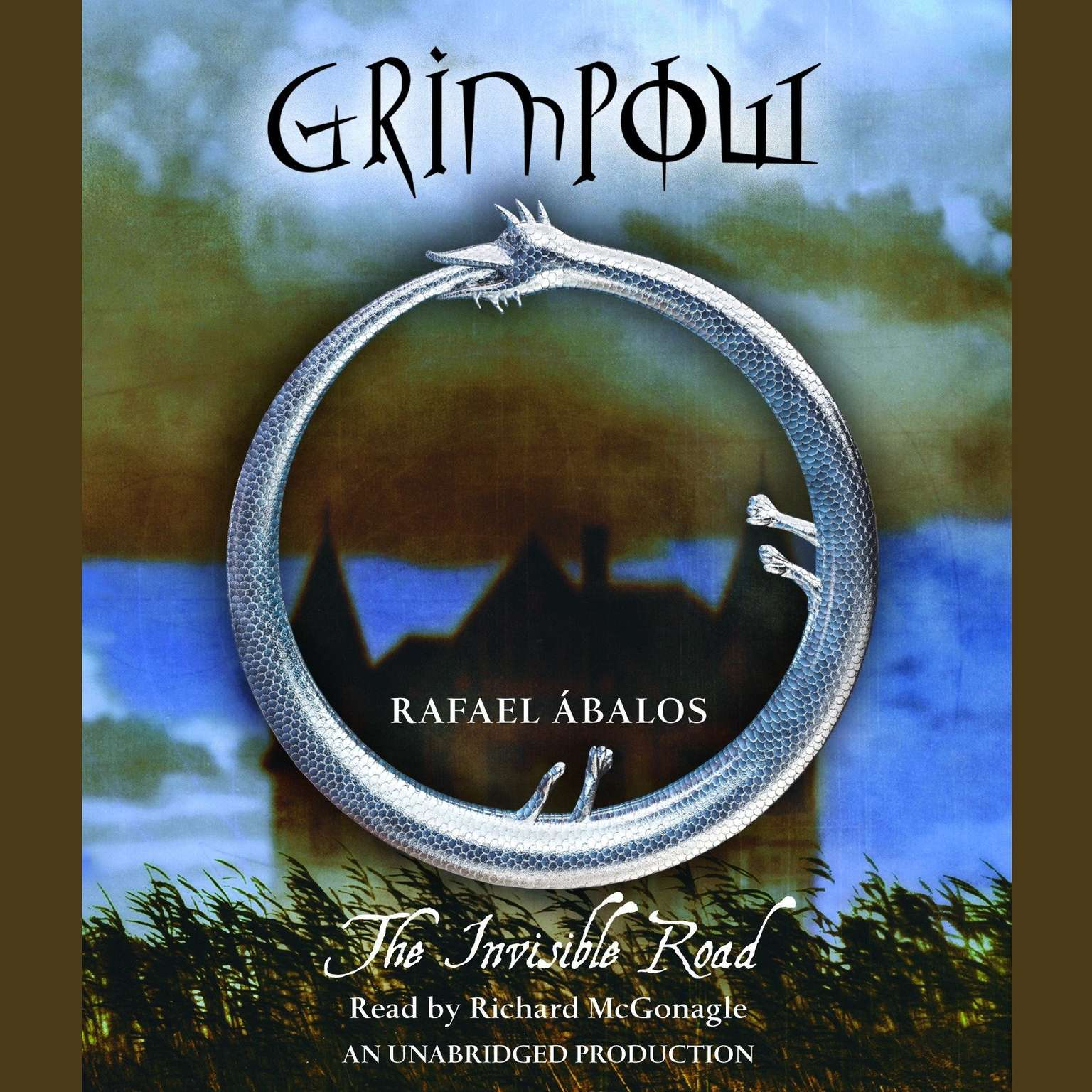 Printable Grimpow: The Invisible Road Audiobook Cover Art