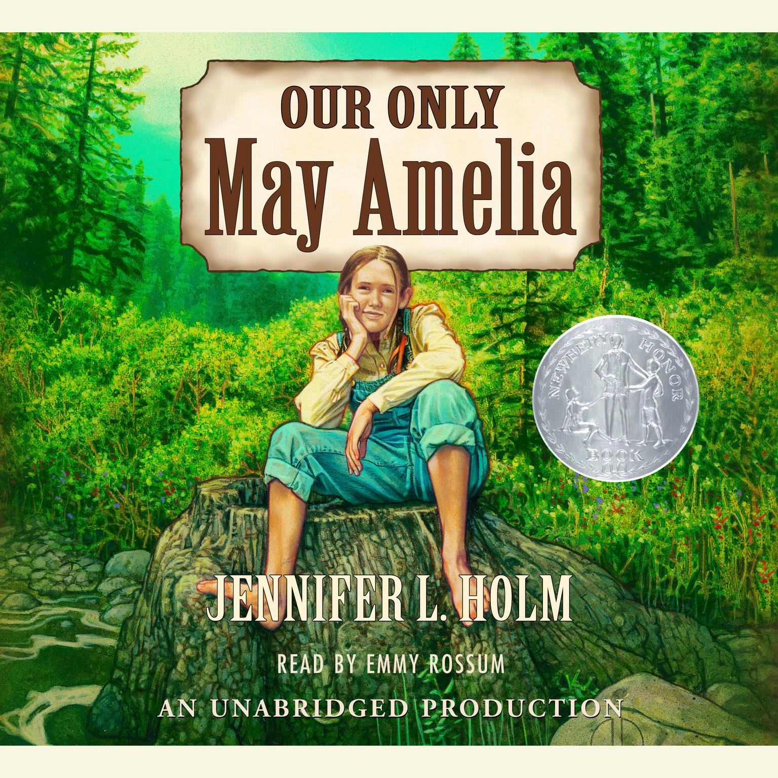 Printable Our Only May Amelia Audiobook Cover Art