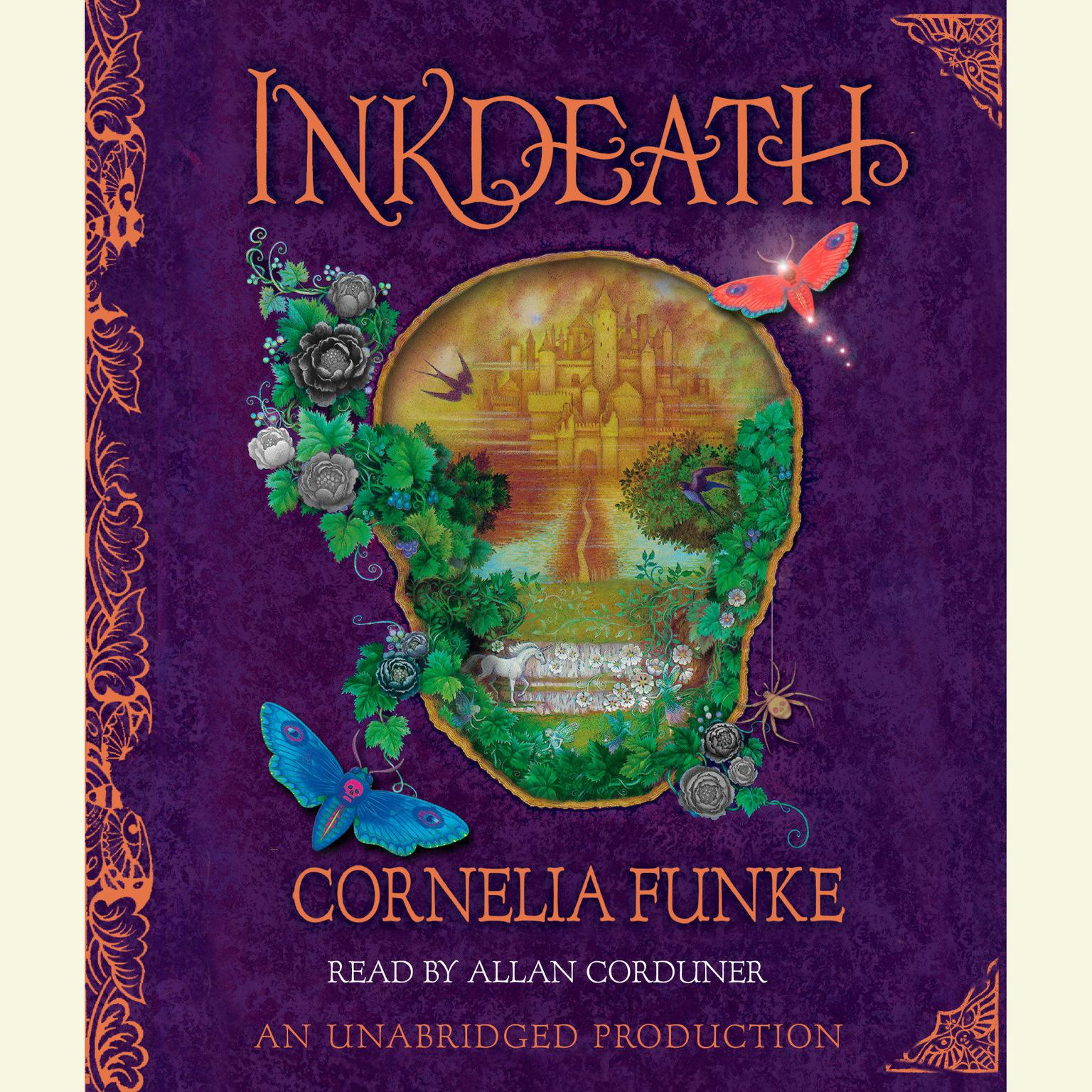 Printable Inkdeath Audiobook Cover Art