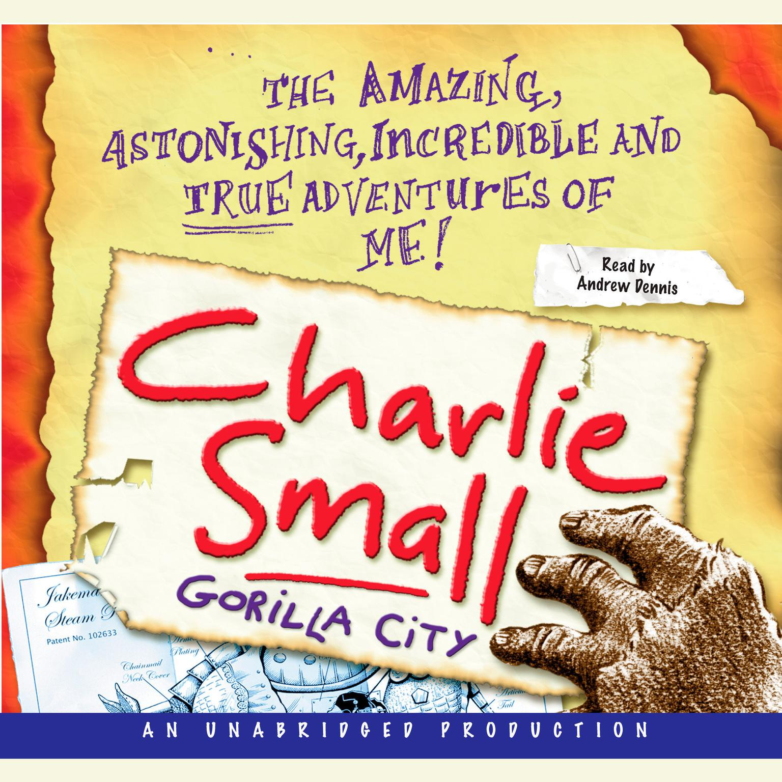 Printable Charlie Small 1:  Gorilla City Audiobook Cover Art