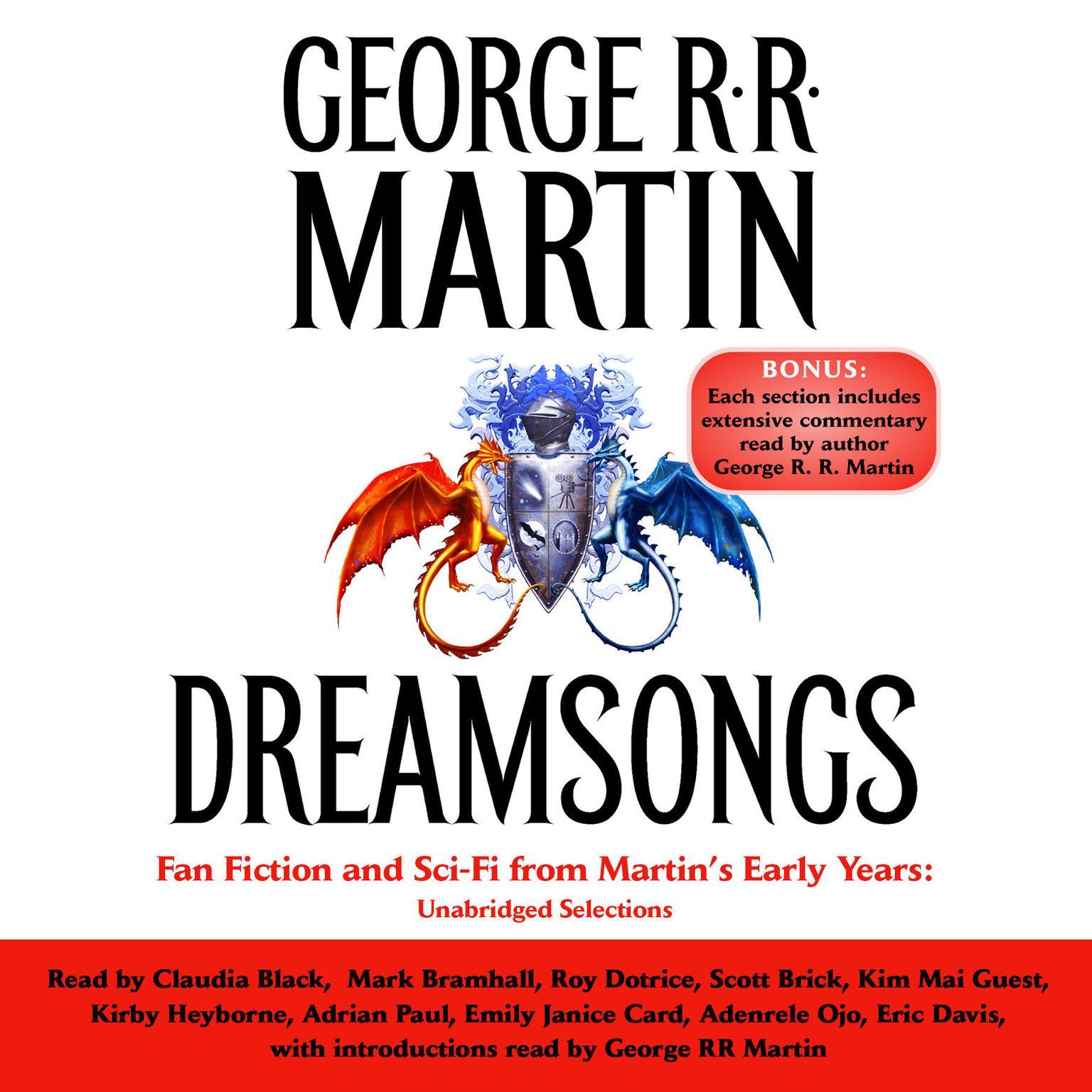 Printable Dreamsongs: Unabridged Selections Audiobook Cover Art