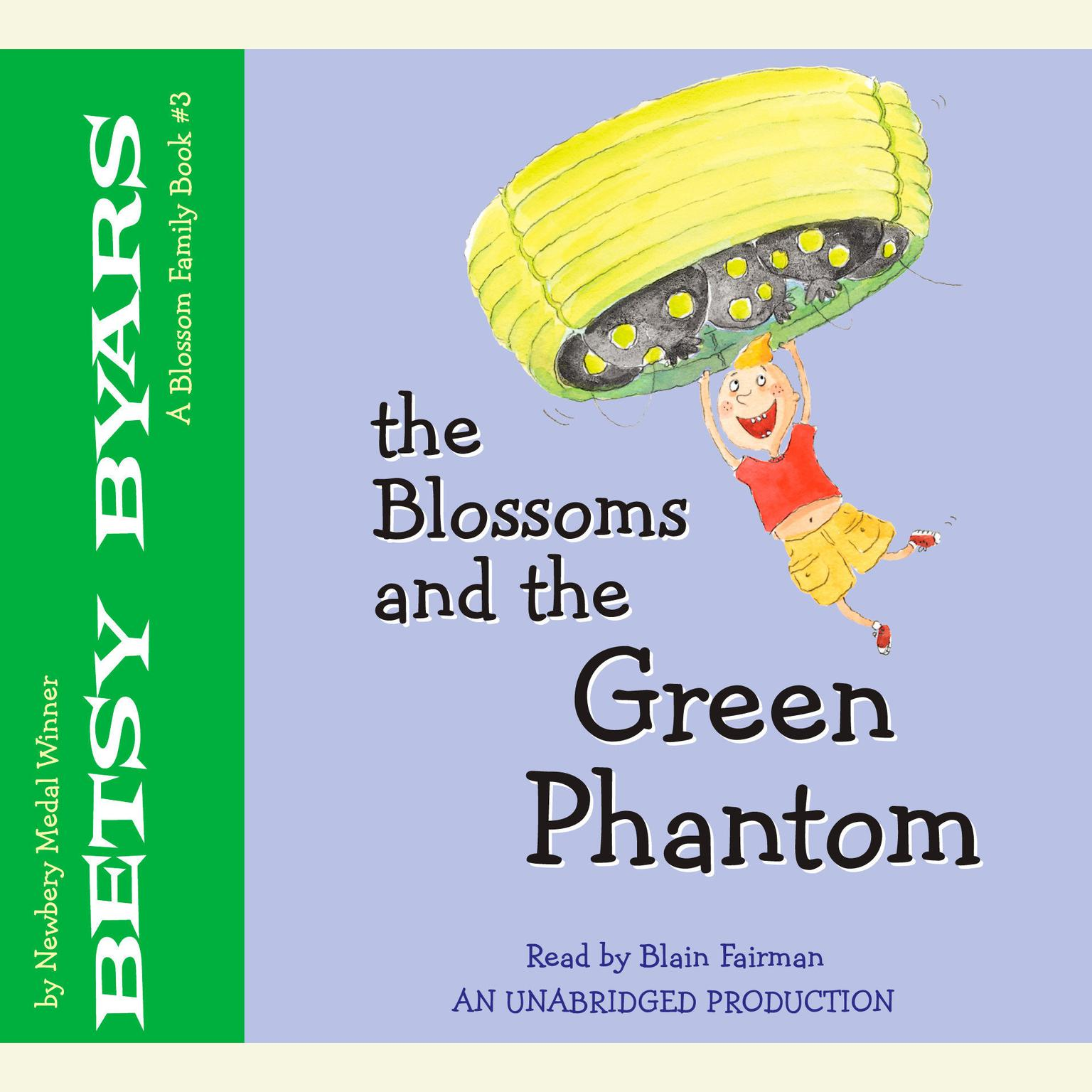 Printable The Blossoms and the Green Phantom Audiobook Cover Art