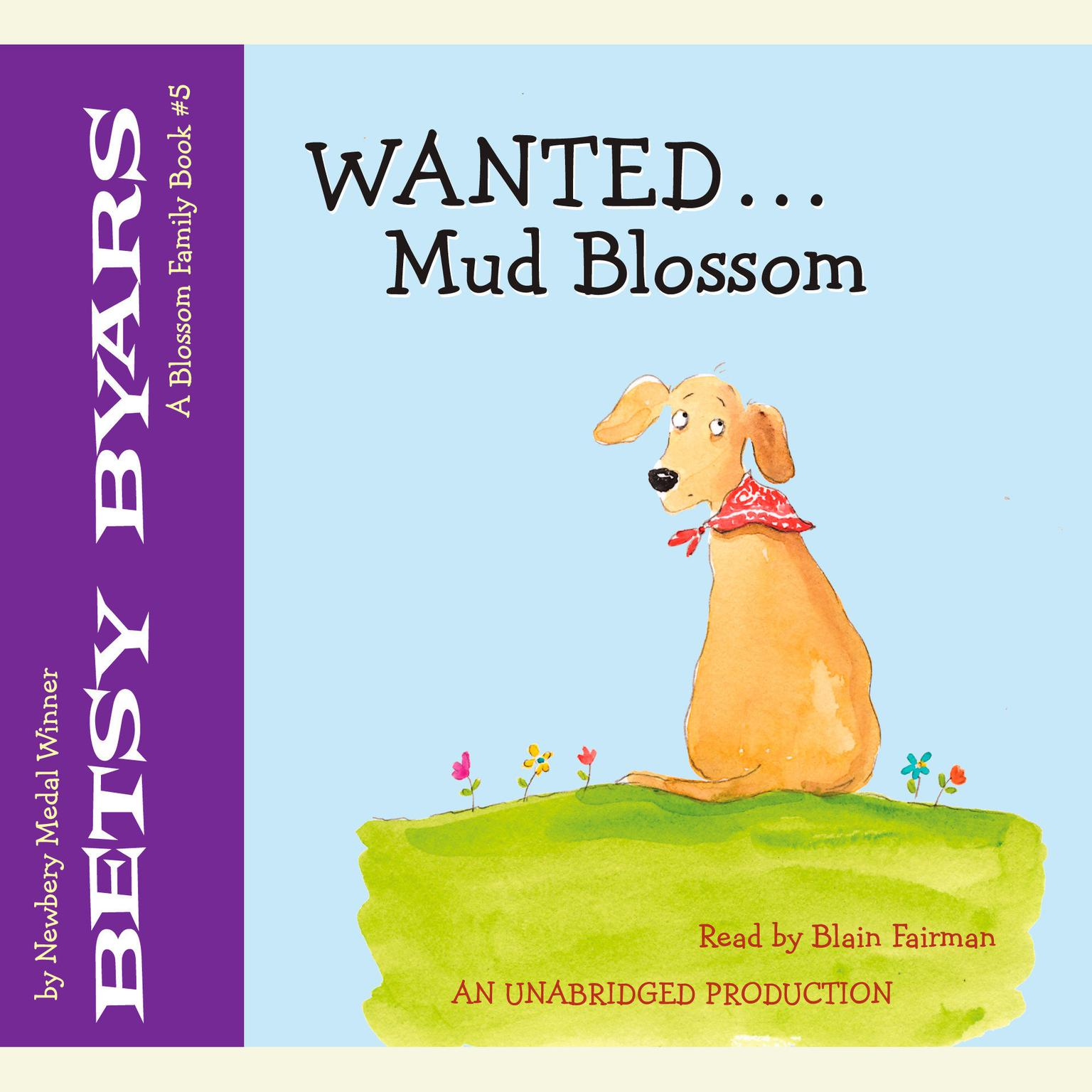 Printable Wanted: Mud Blossom Audiobook Cover Art