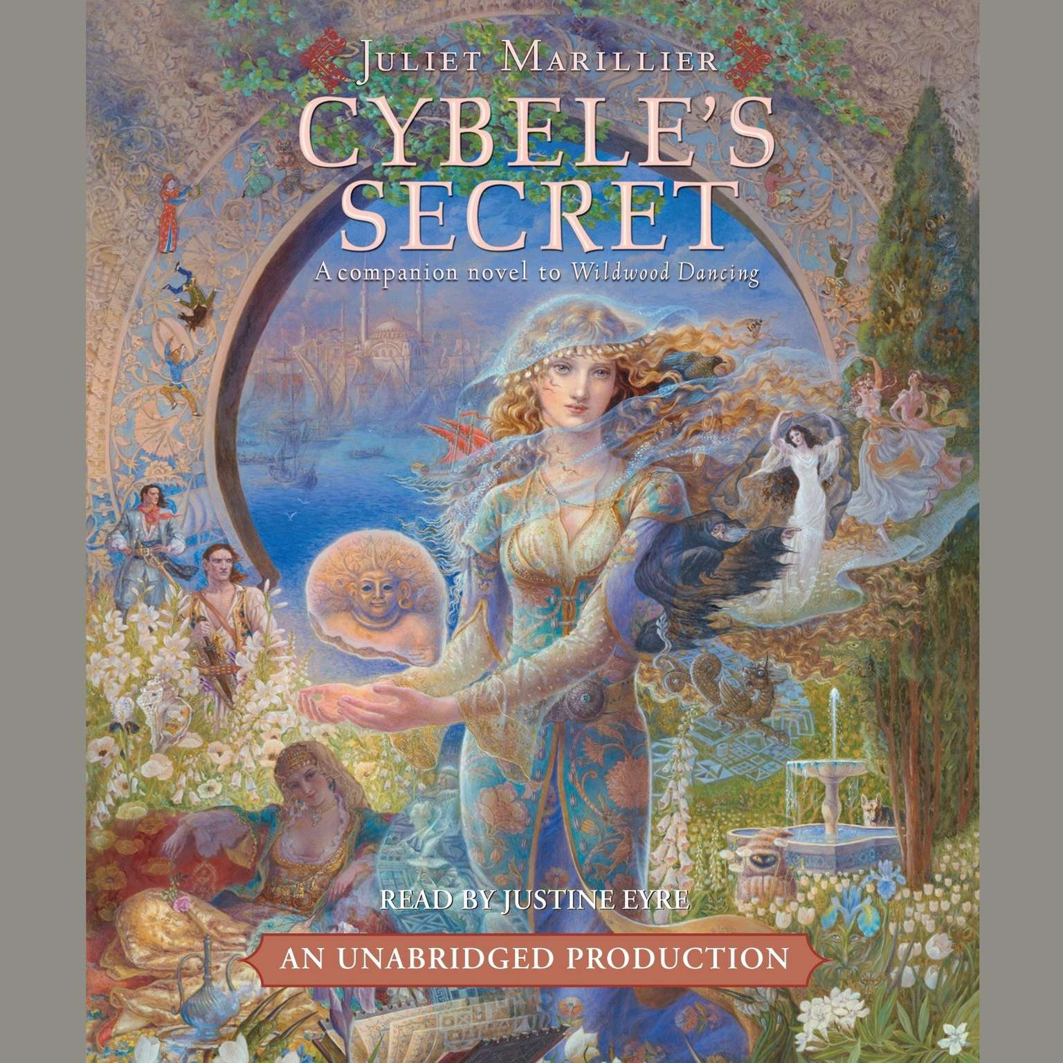 Printable Cybele's Secret Audiobook Cover Art