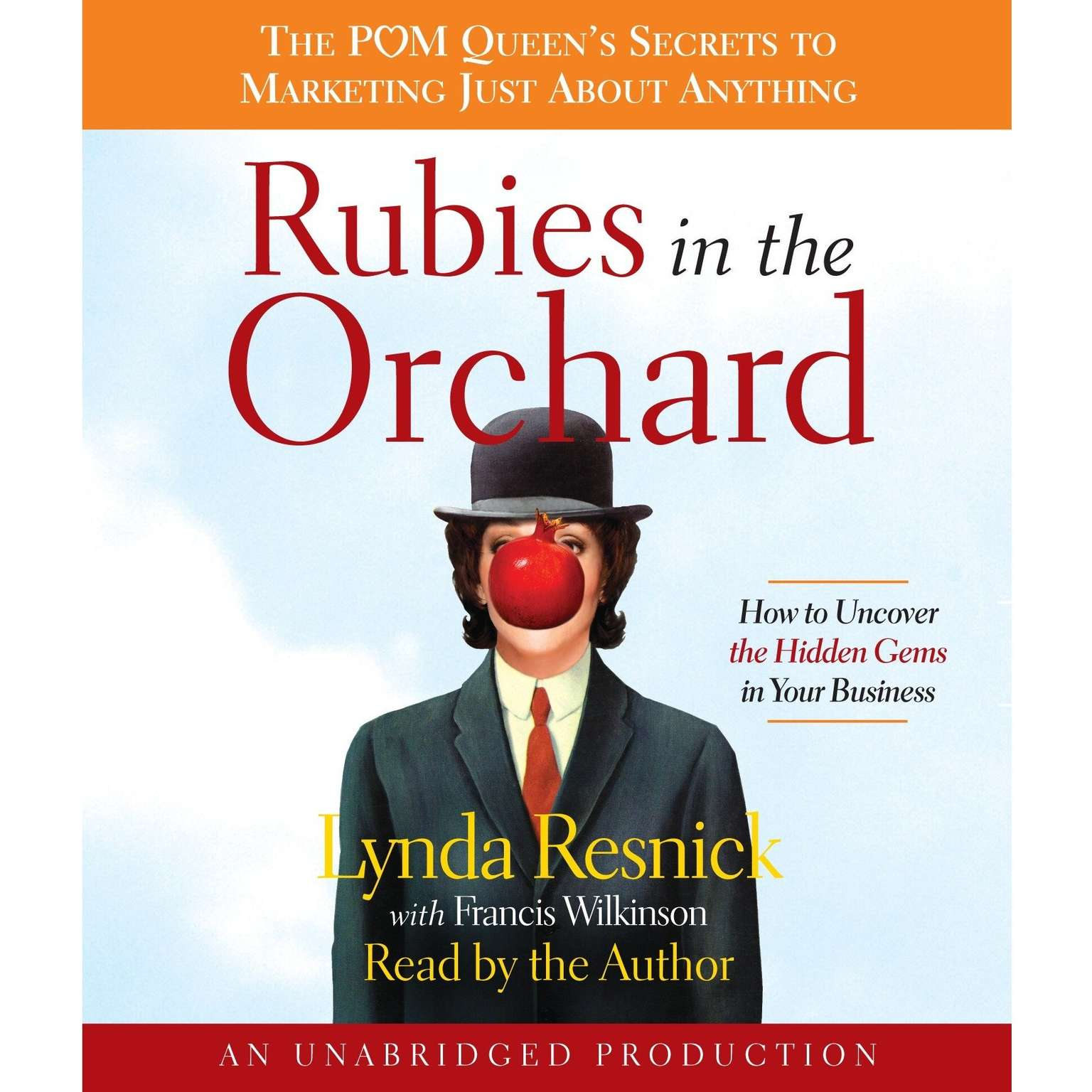 Printable Rubies in the Orchard: How to Uncover the Hidden Gems in Your Business Audiobook Cover Art