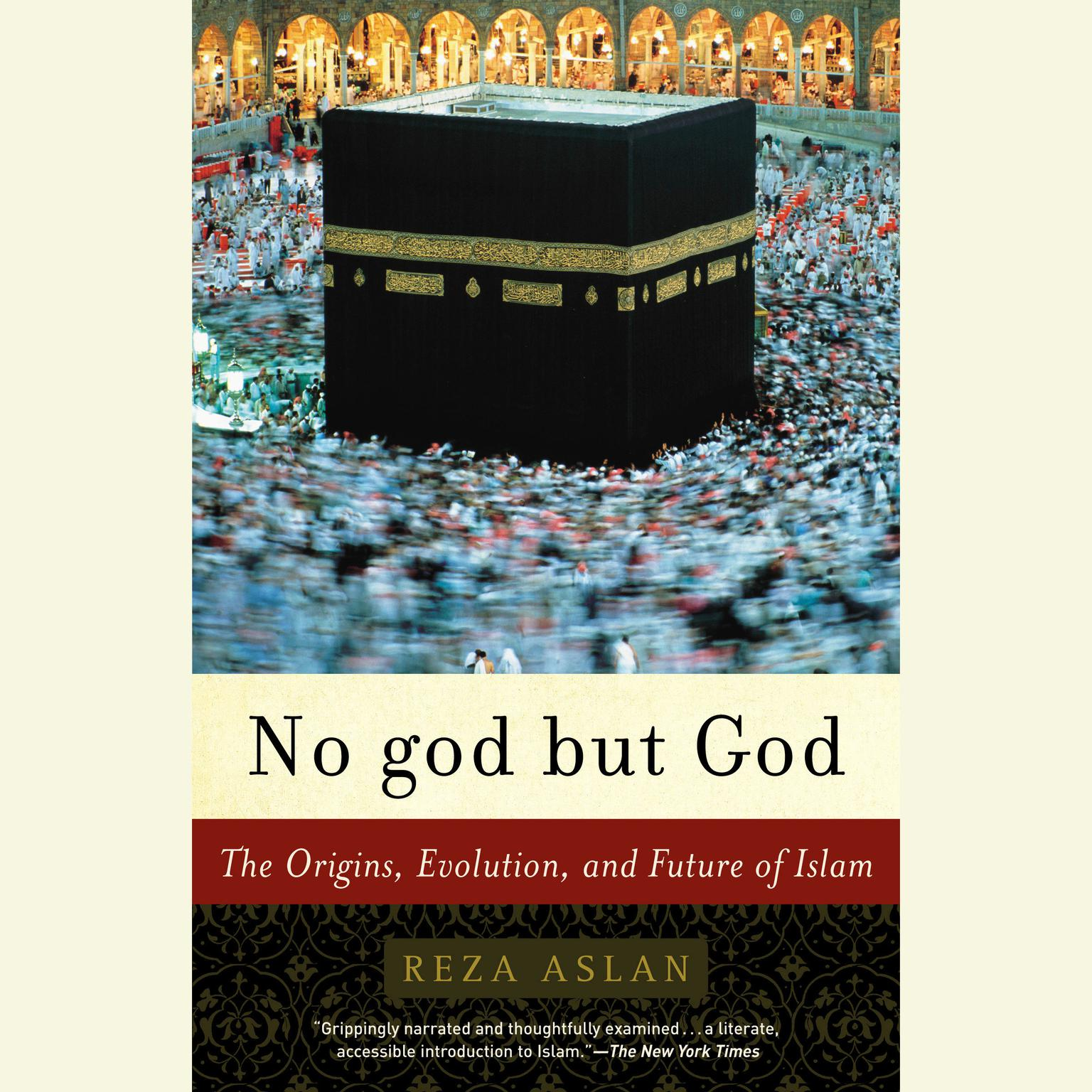 Printable No god but God: The Origins, Evolution, and Future of Islam Audiobook Cover Art