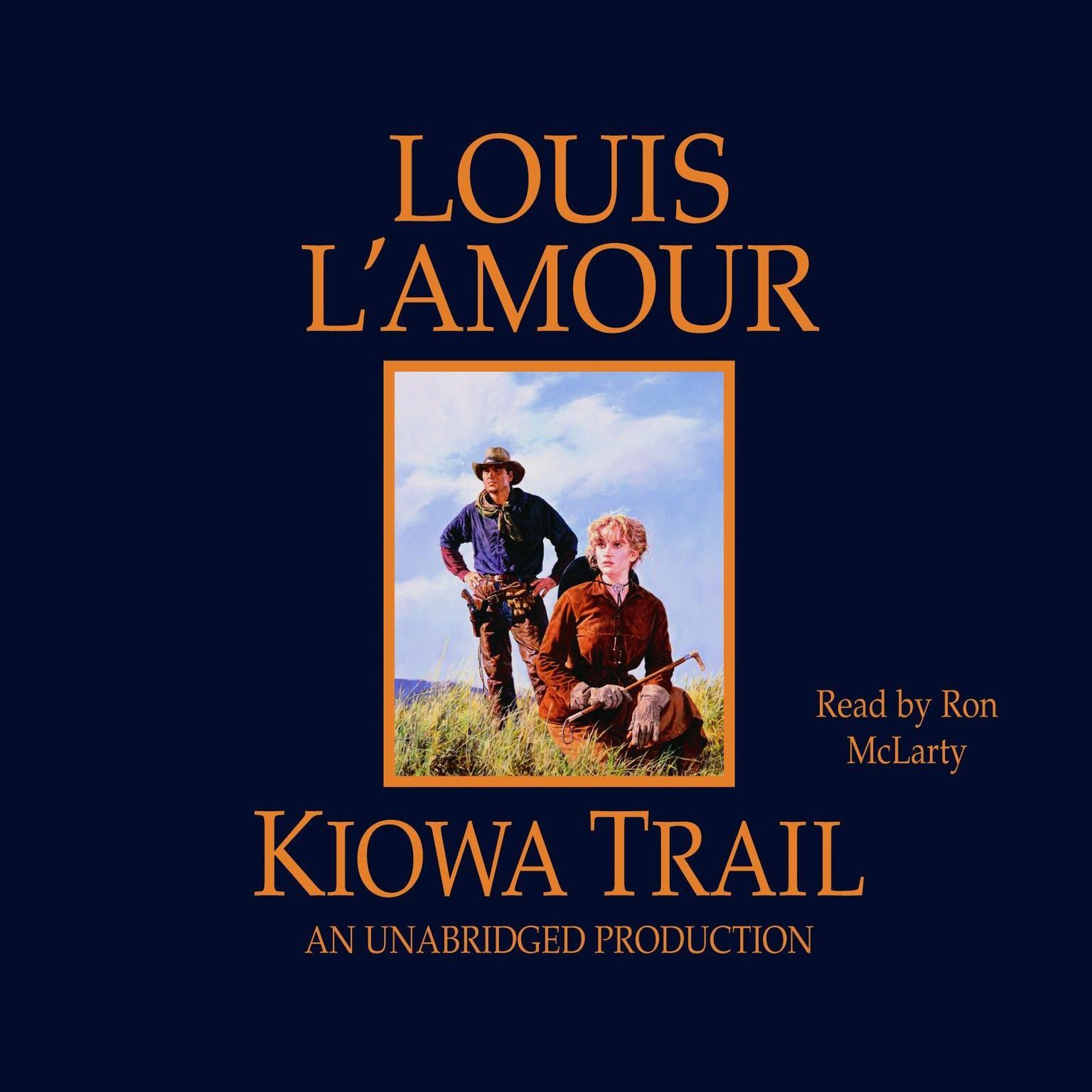 Printable Kiowa Trail Audiobook Cover Art