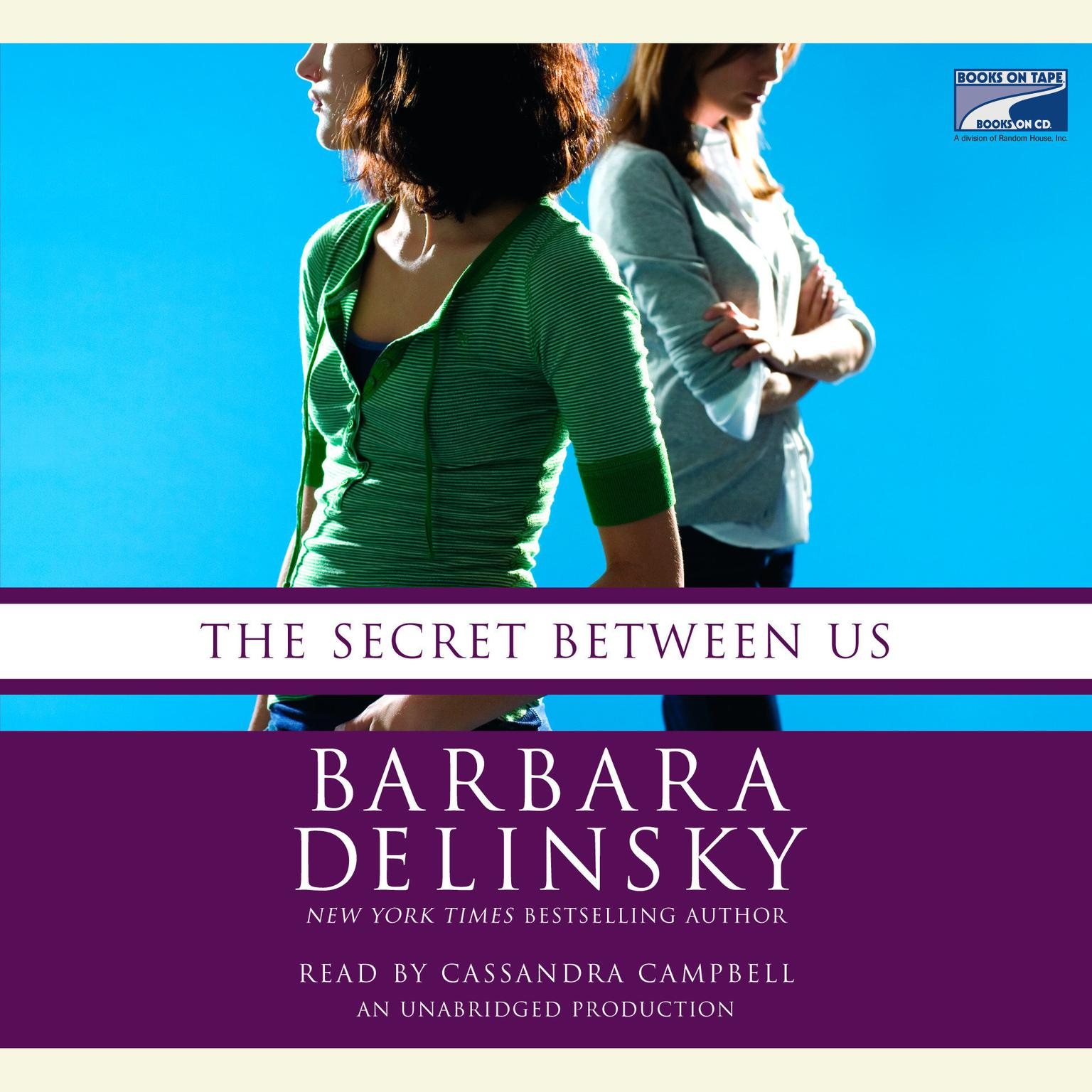Printable The Secret Between Us Audiobook Cover Art