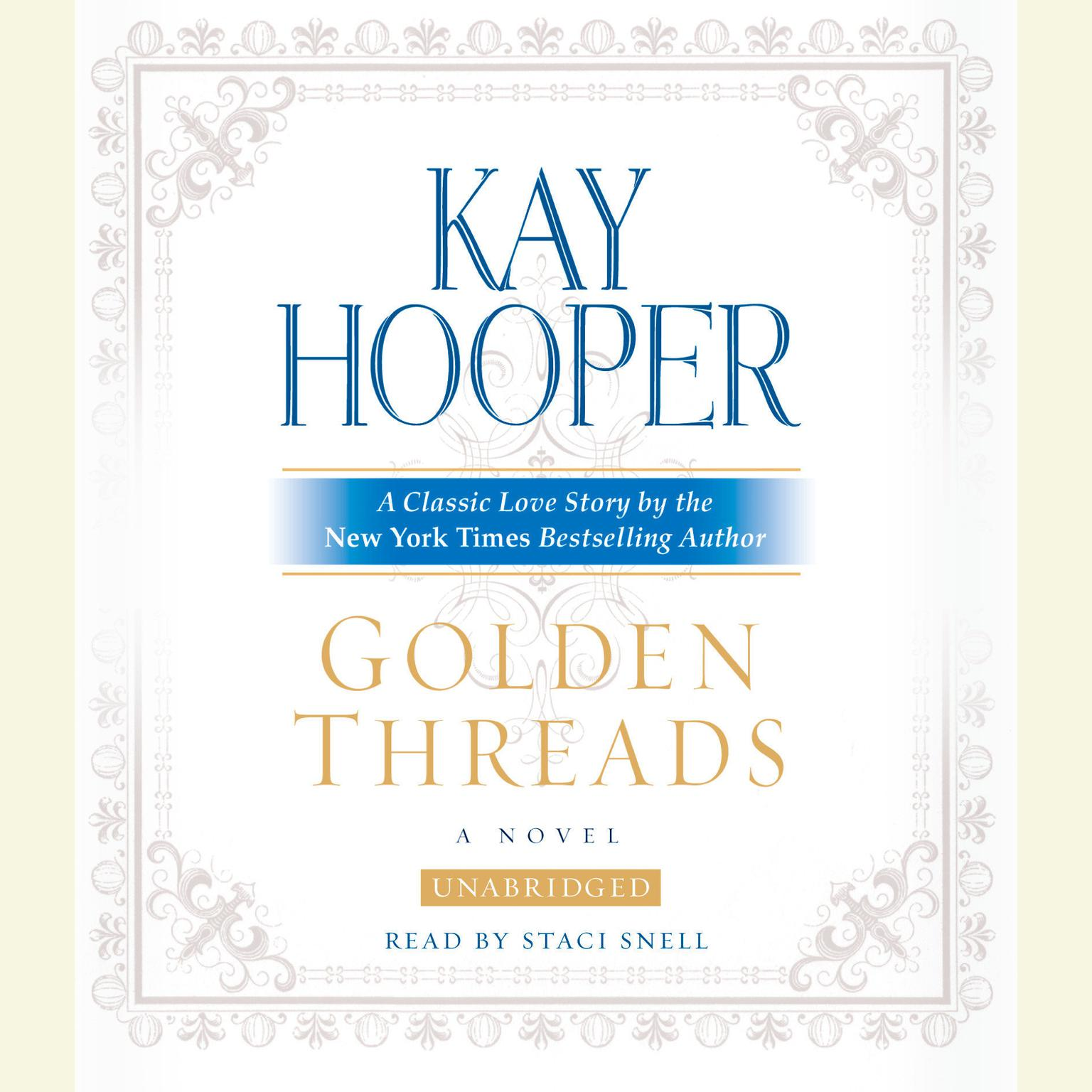 Printable Golden Threads Audiobook Cover Art