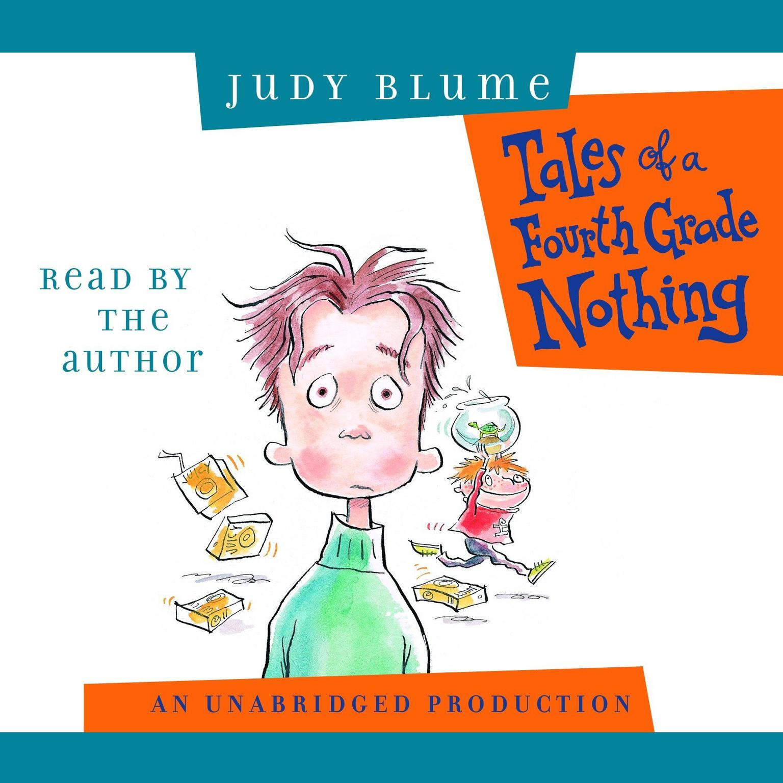 Printable Tales of a Fourth Grade Nothing Audiobook Cover Art