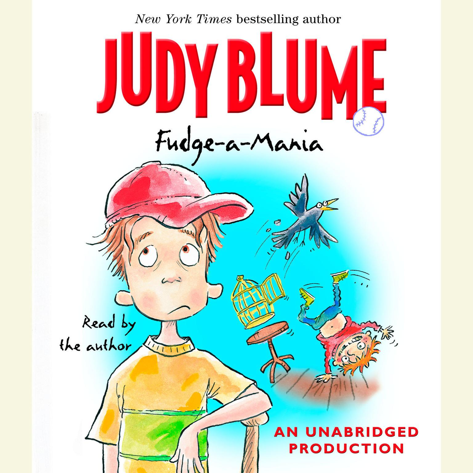 Printable Fudge-A-Mania Audiobook Cover Art