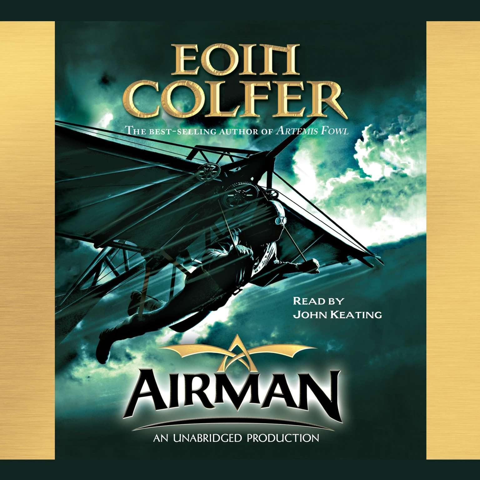 Printable Airman Audiobook Cover Art
