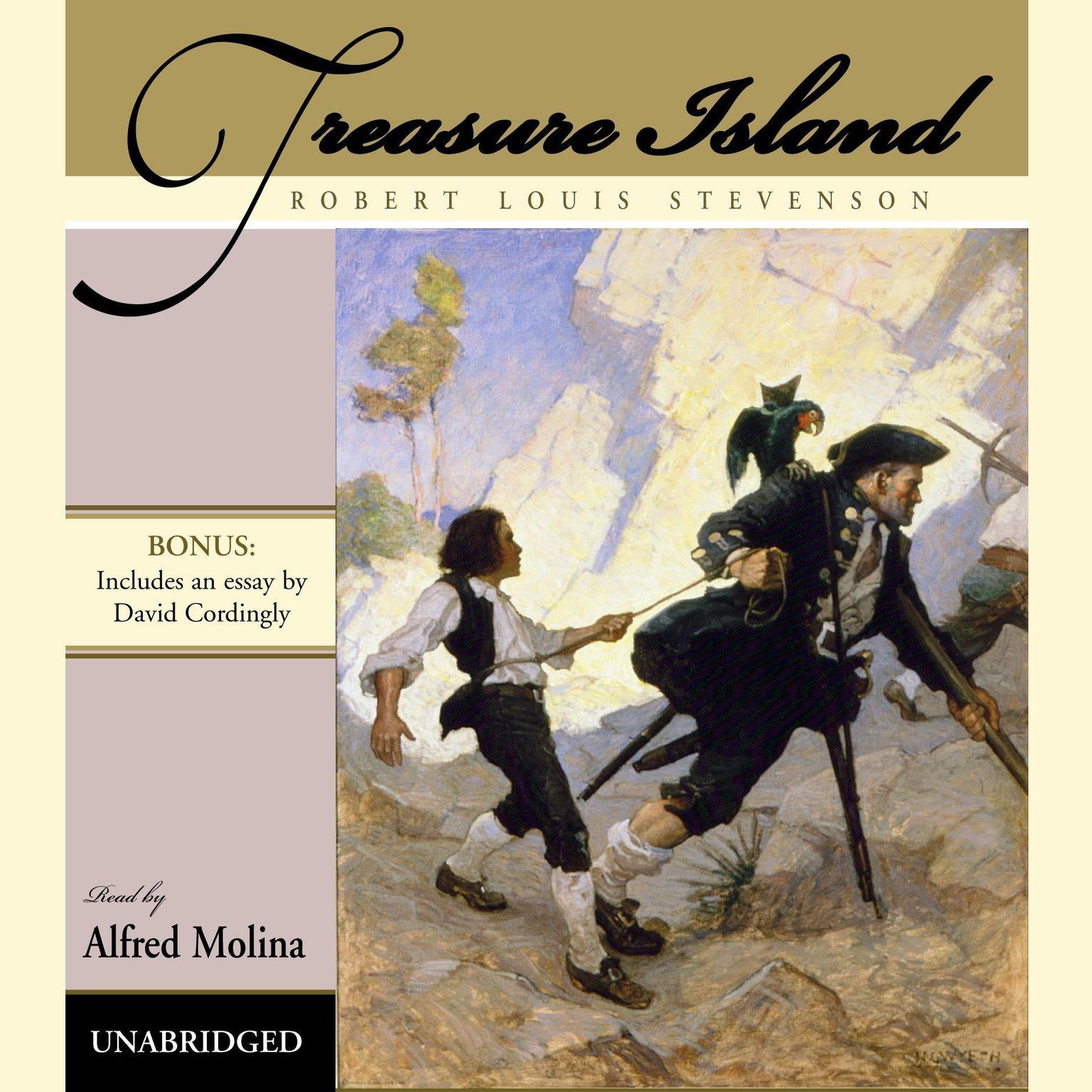 Printable Treasure Island Audiobook Cover Art