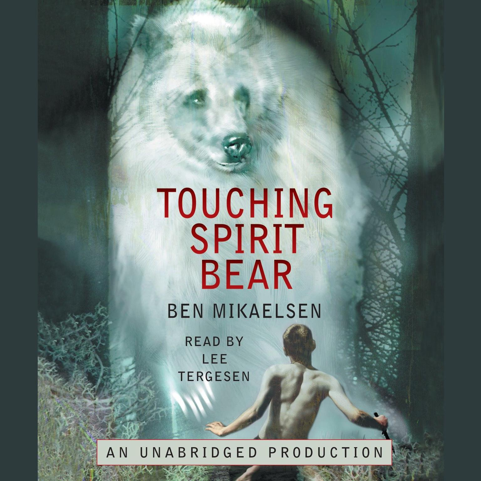 Printable Touching Spirit Bear Audiobook Cover Art