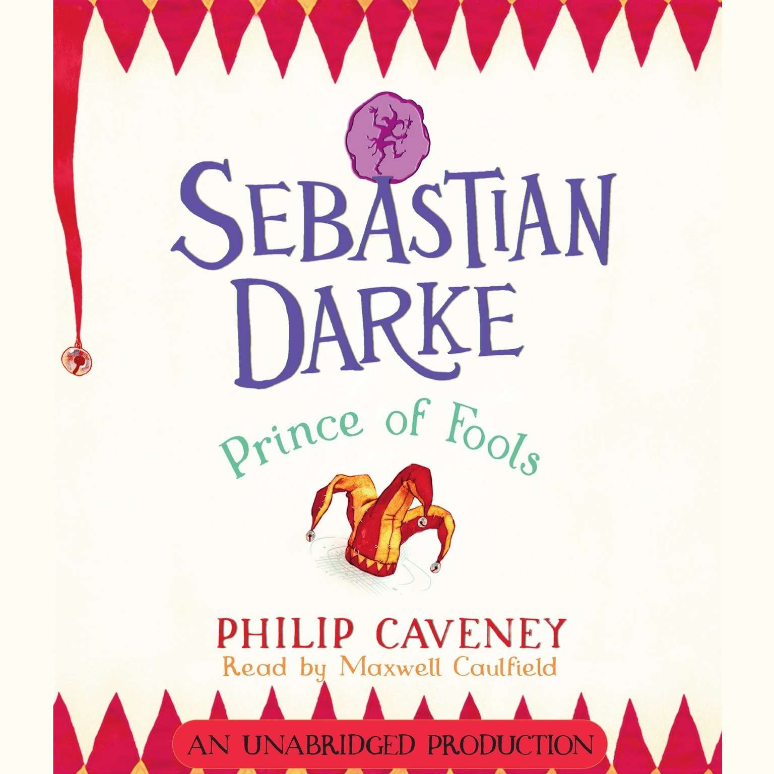 Printable Sebastian Darke: Prince of Fools Audiobook Cover Art