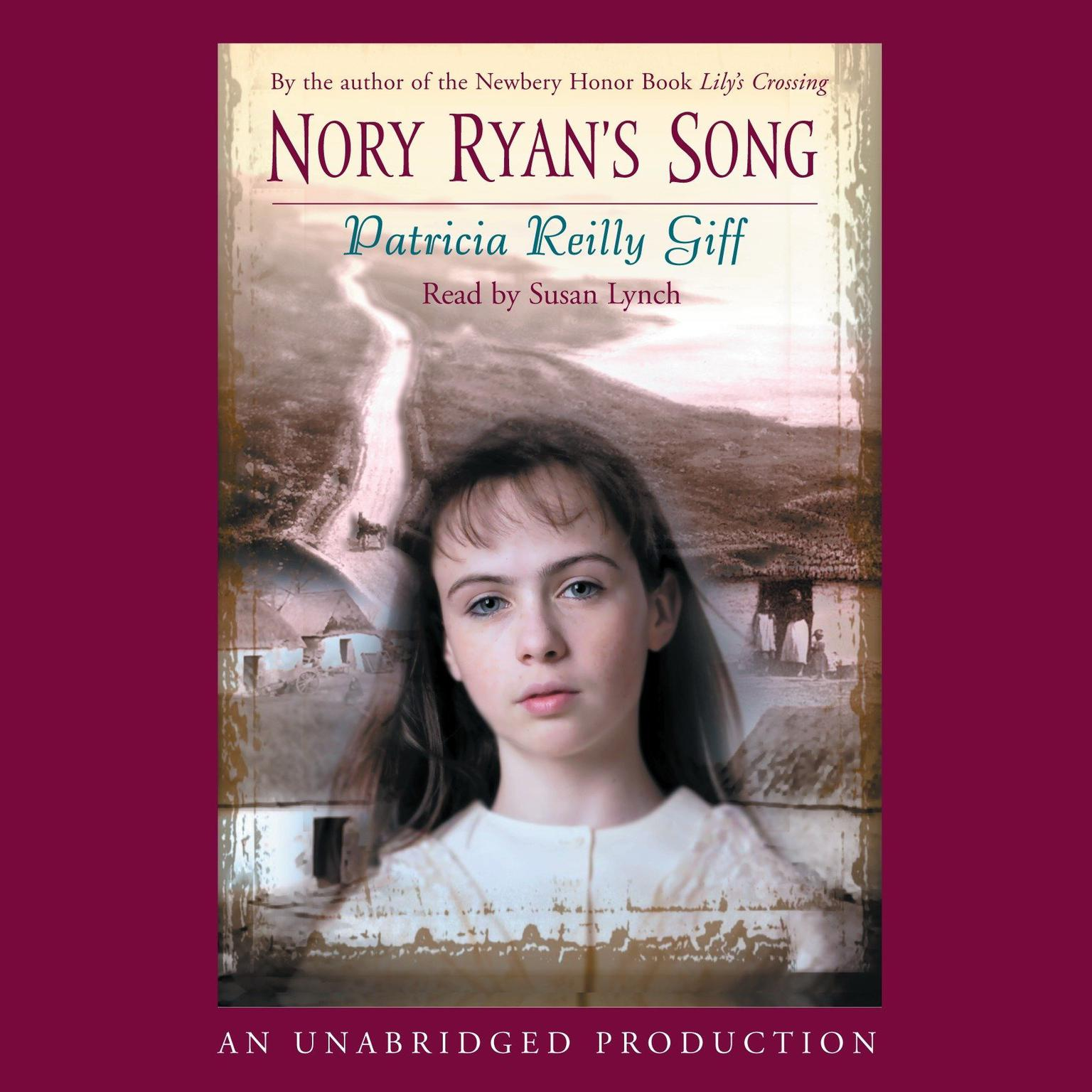 Printable Nory Ryan's Song Audiobook Cover Art