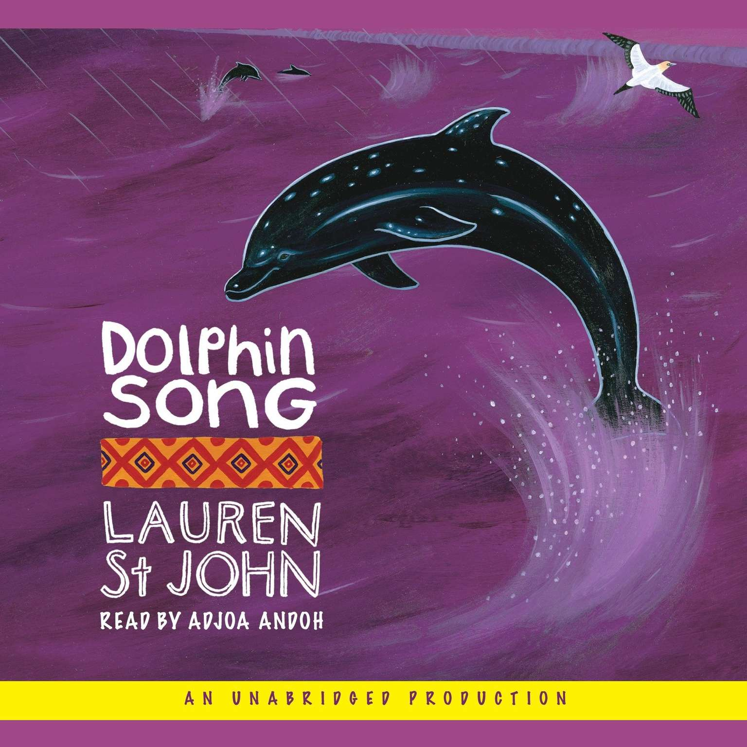 Printable Dolphin Song Audiobook Cover Art