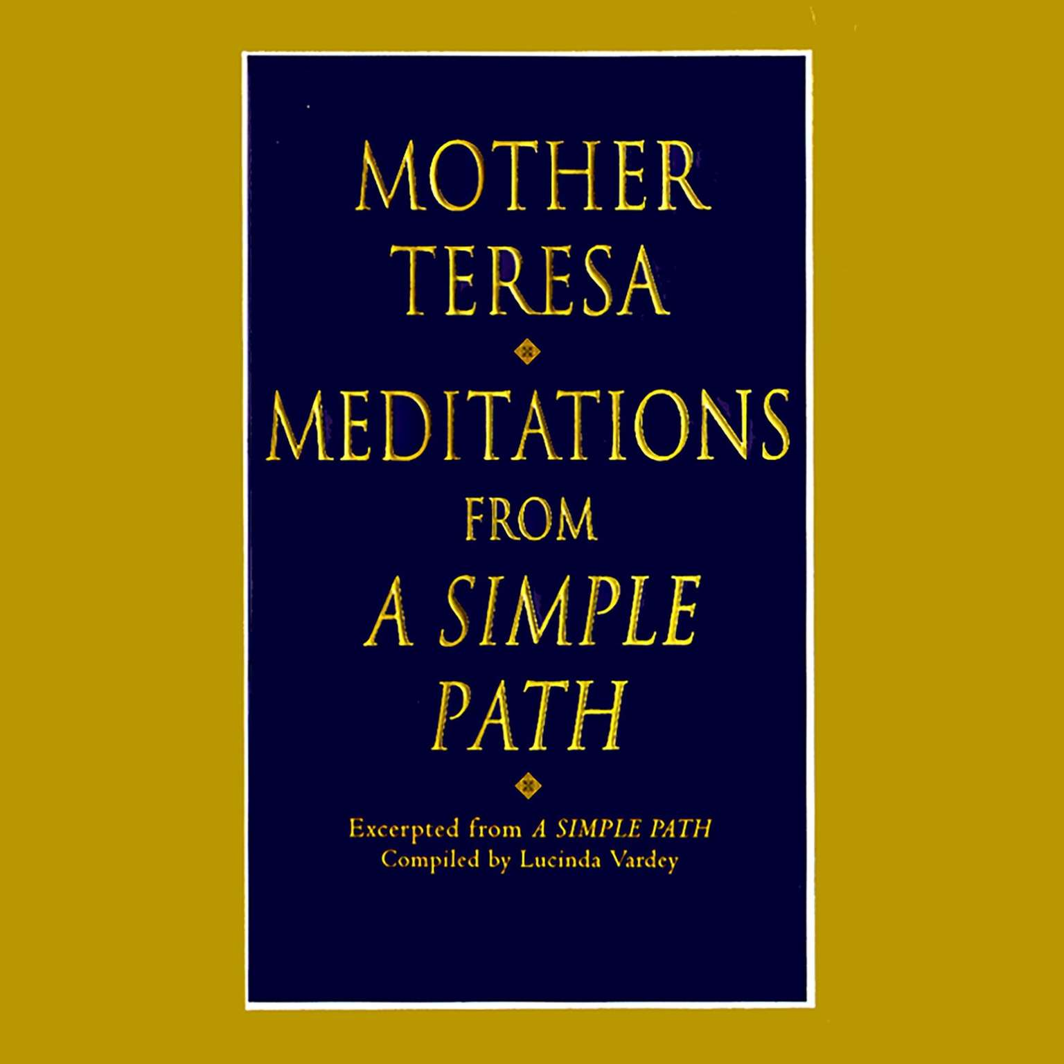 Printable Meditations from a Simple Path Audiobook Cover Art