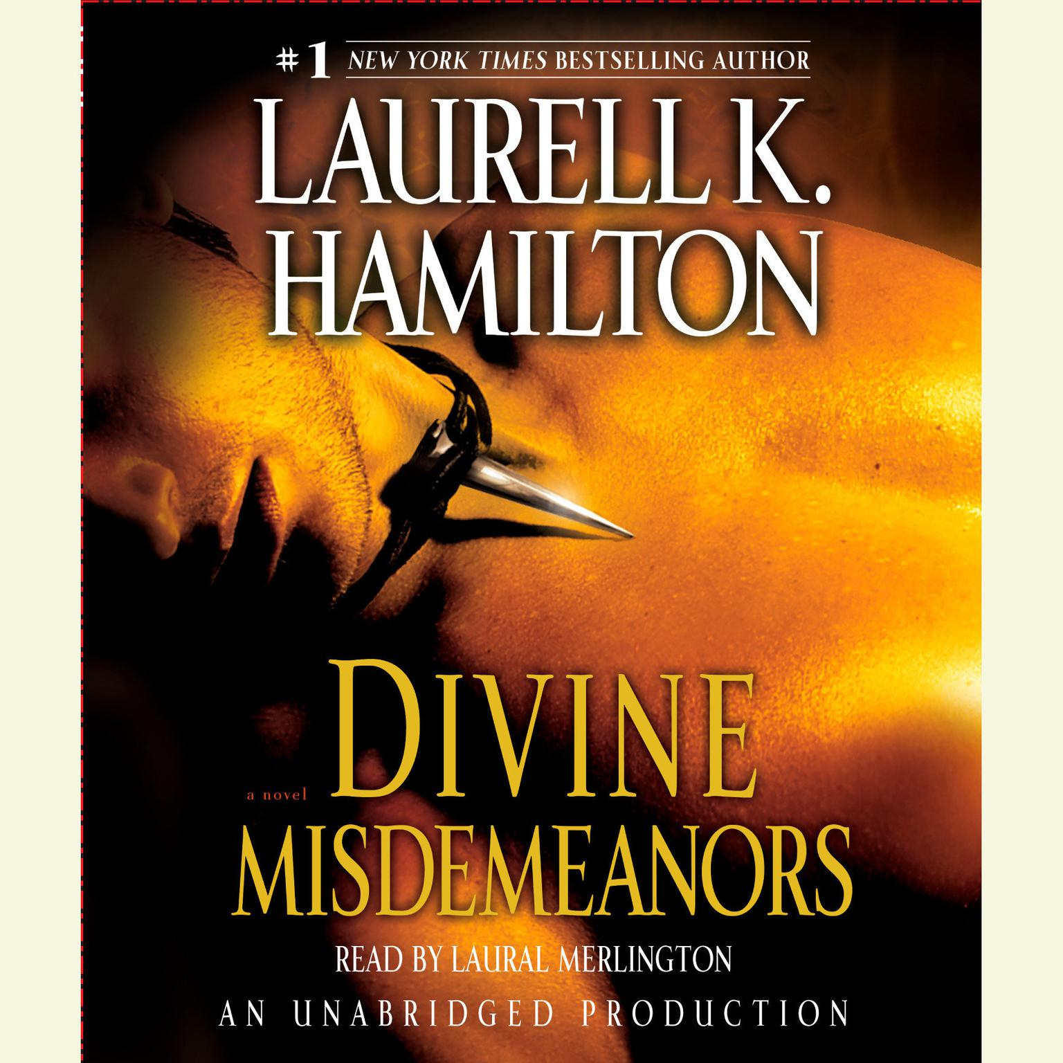Printable Divine Misdemeanors: A Novel Audiobook Cover Art