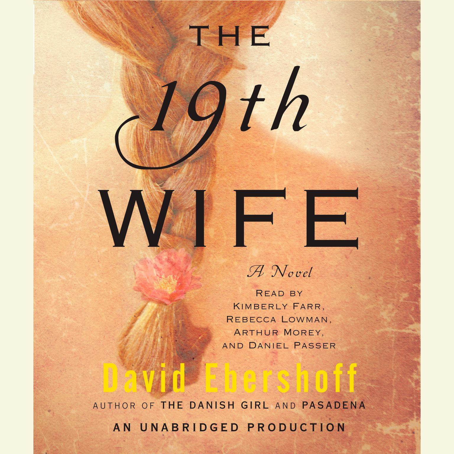 Printable The 19th Wife: A Novel Audiobook Cover Art