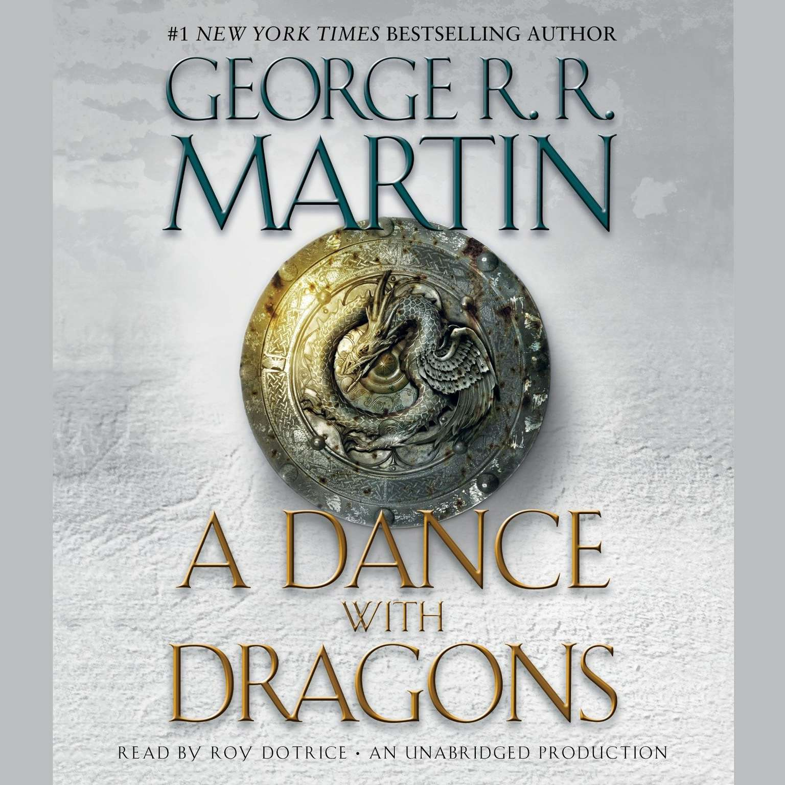 Printable A Dance with Dragons: A Song of Ice and Fire: Book Five Audiobook Cover Art