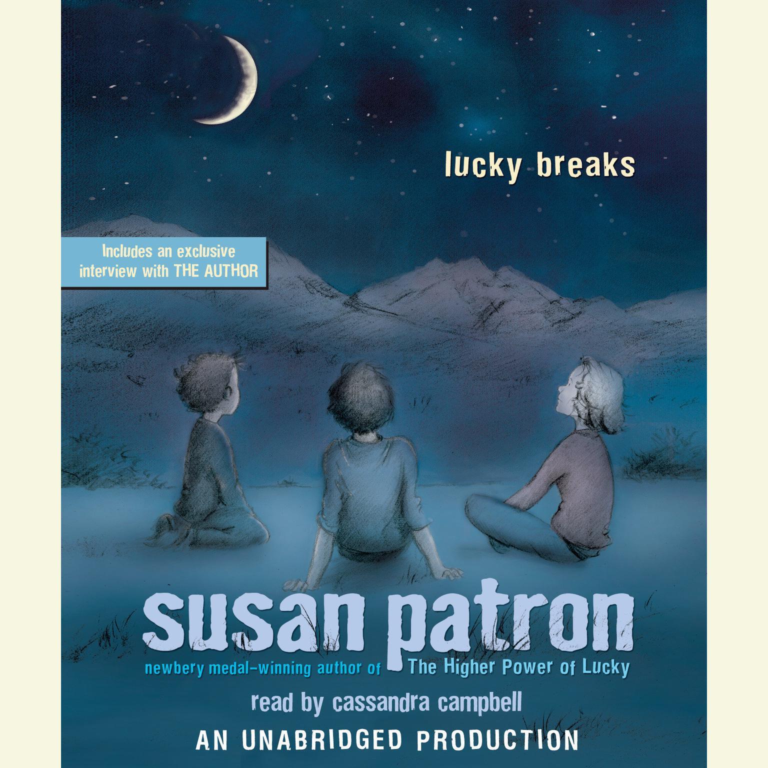 Printable Lucky Breaks Audiobook Cover Art