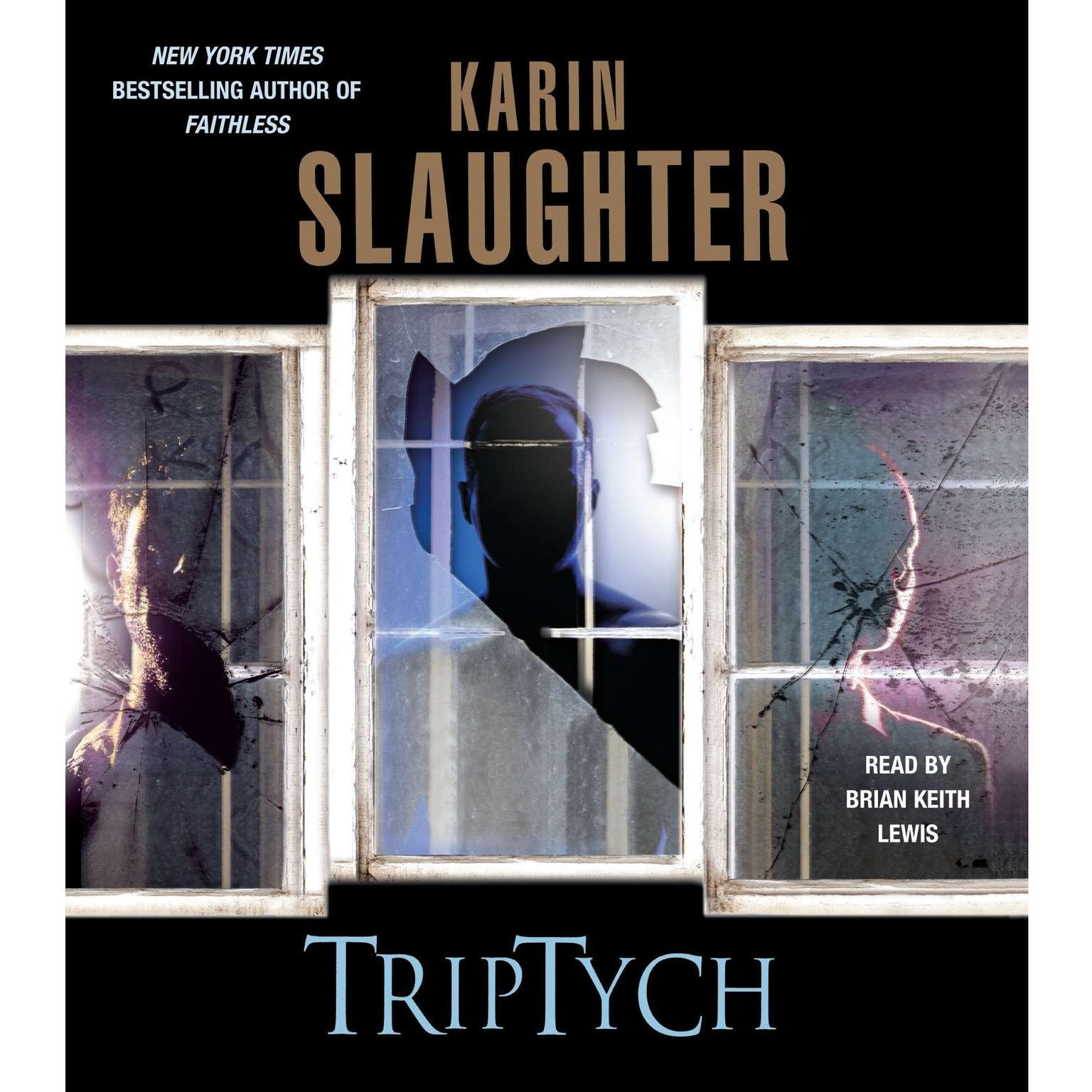 Printable Triptych Audiobook Cover Art