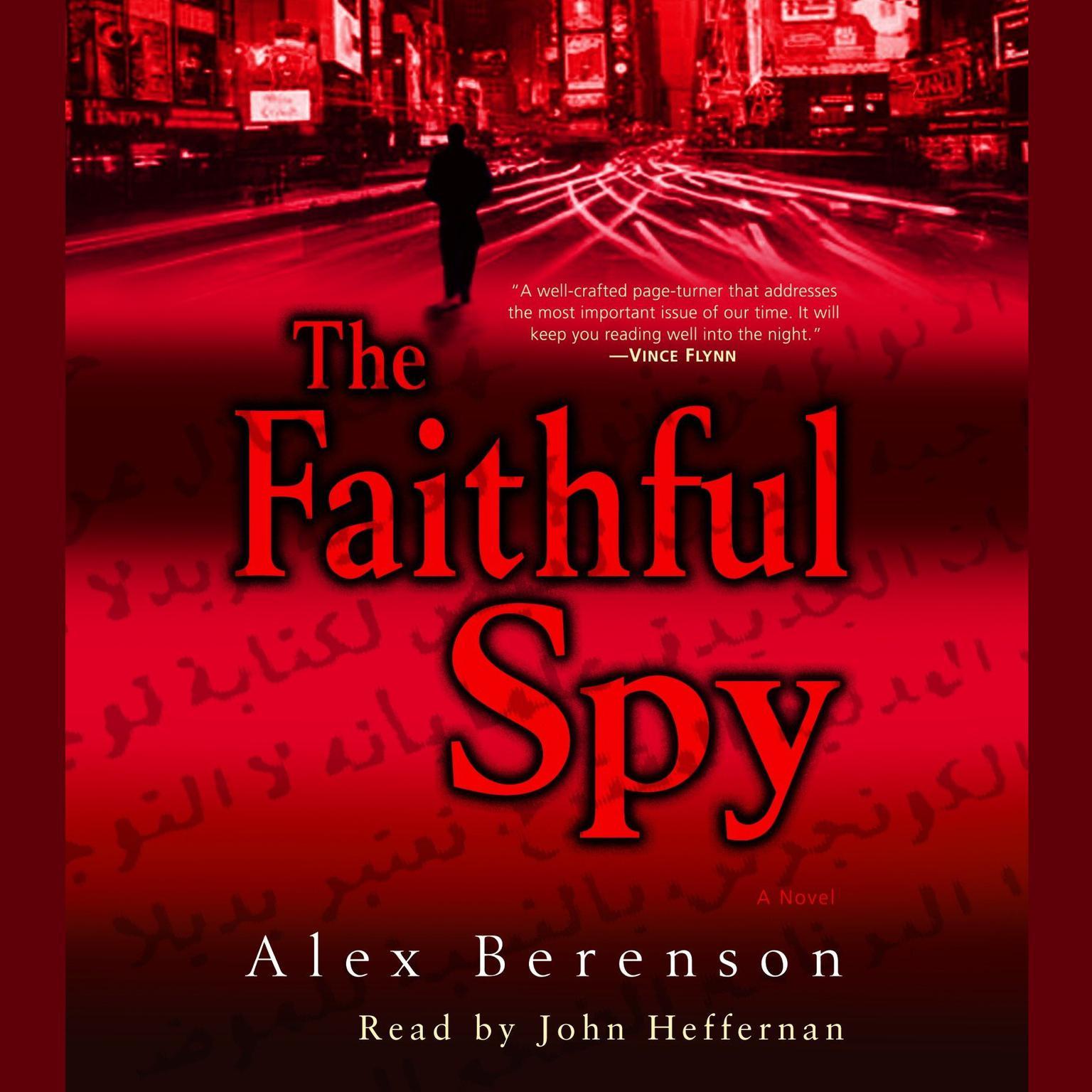 Printable The Faithful Spy: A Novel Audiobook Cover Art