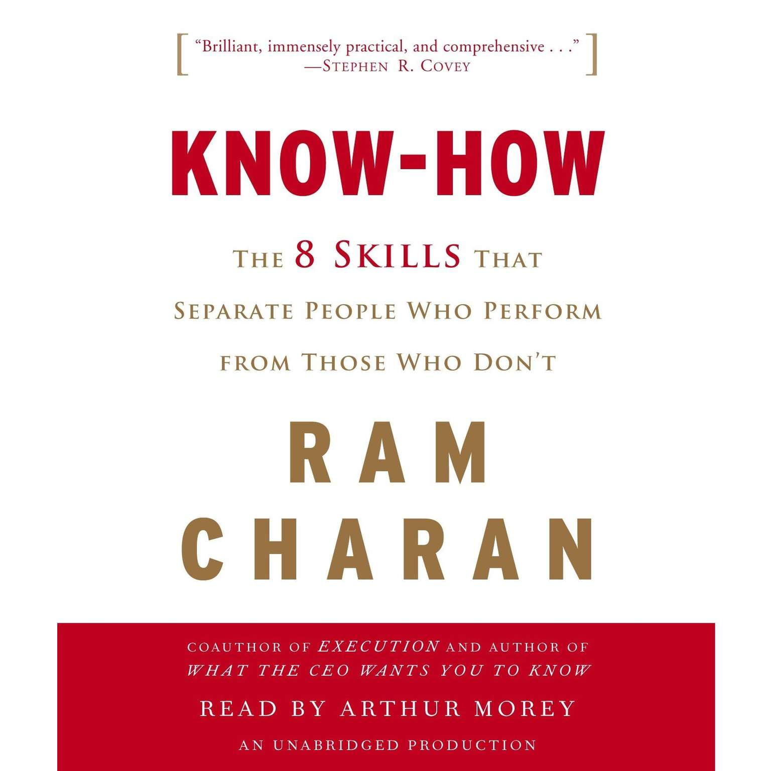 Printable Know-How: The 8 Skills That Separate People Who Perform from Those Who Don't Audiobook Cover Art