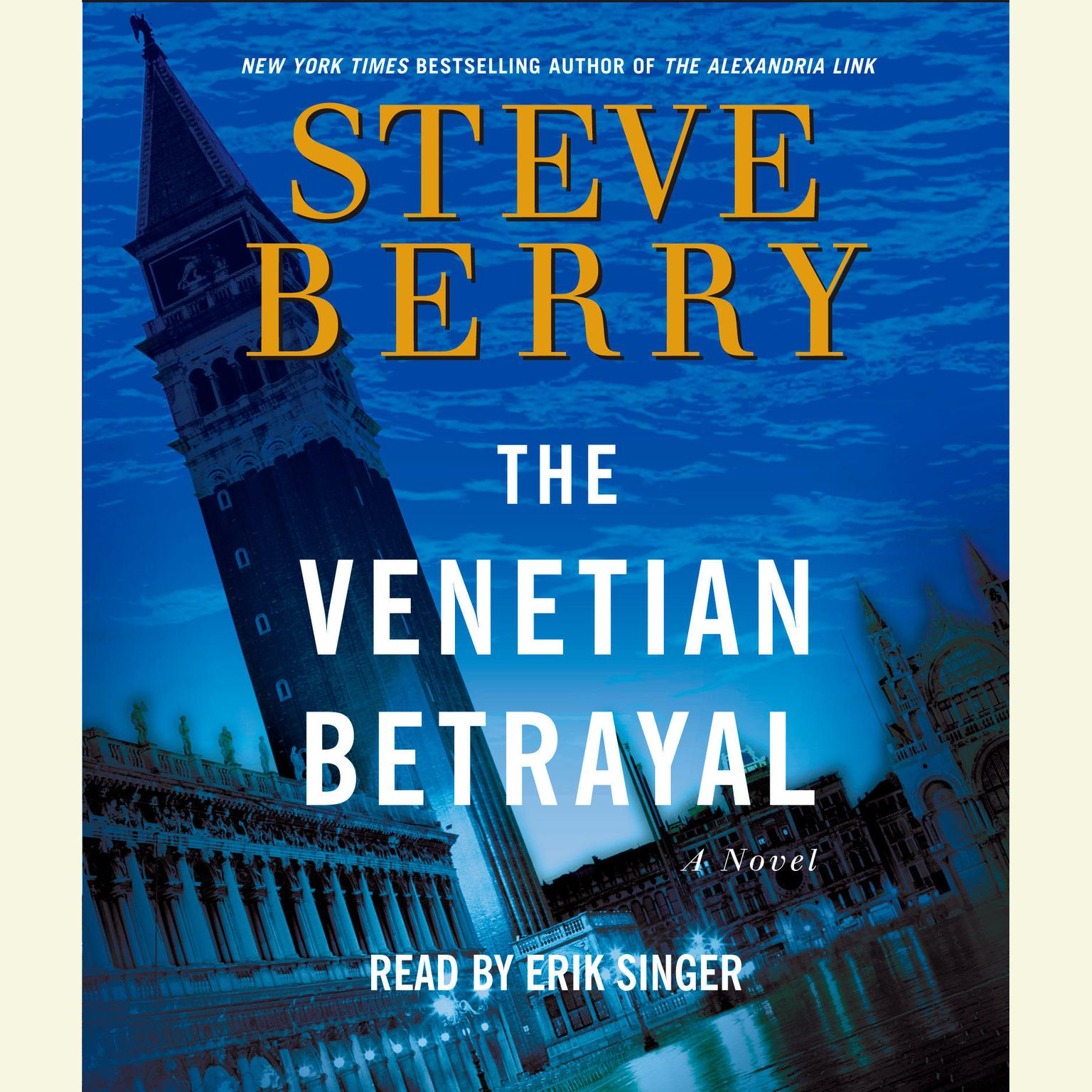 Printable The Venetian Betrayal Audiobook Cover Art