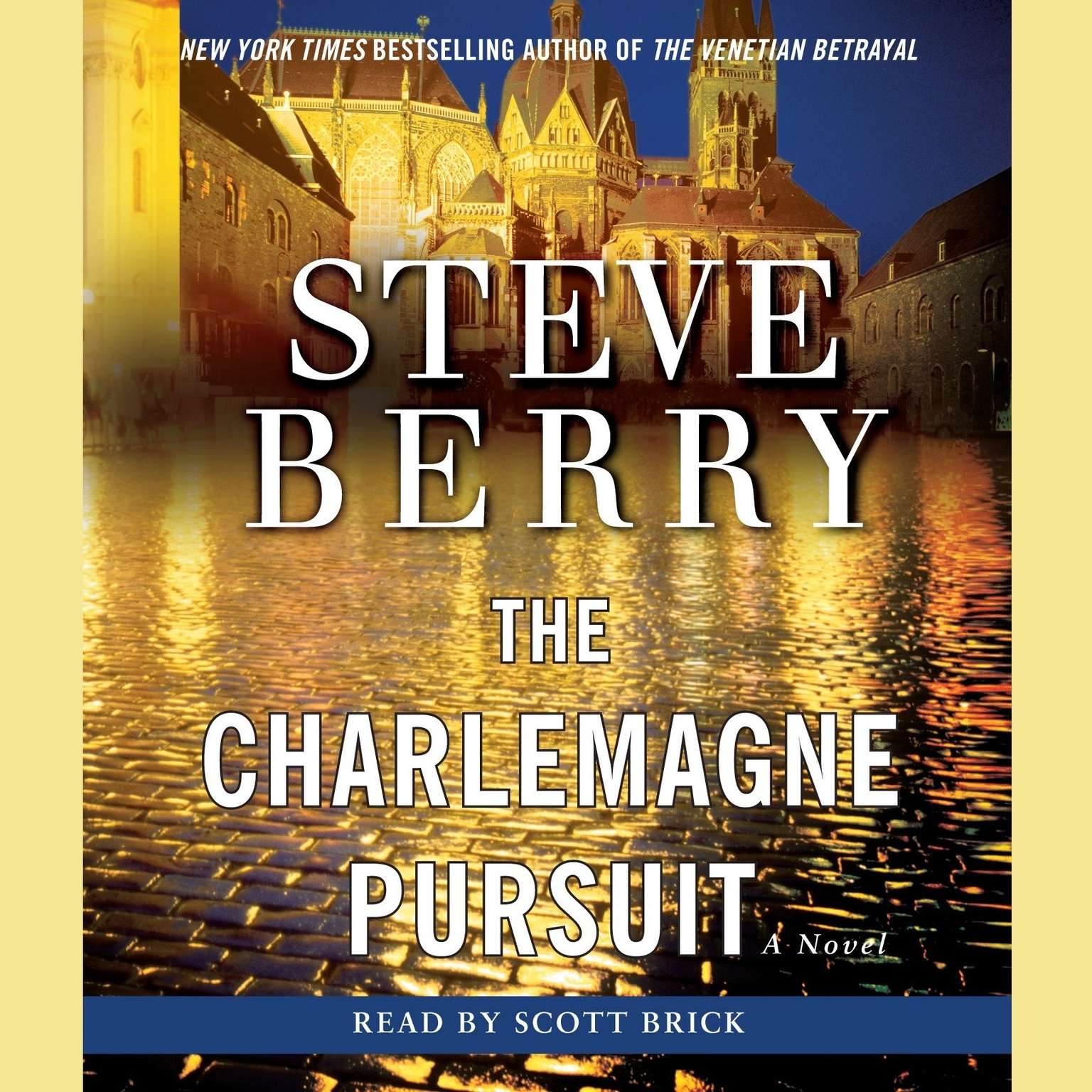 Printable The Charlemagne Pursuit Audiobook Cover Art