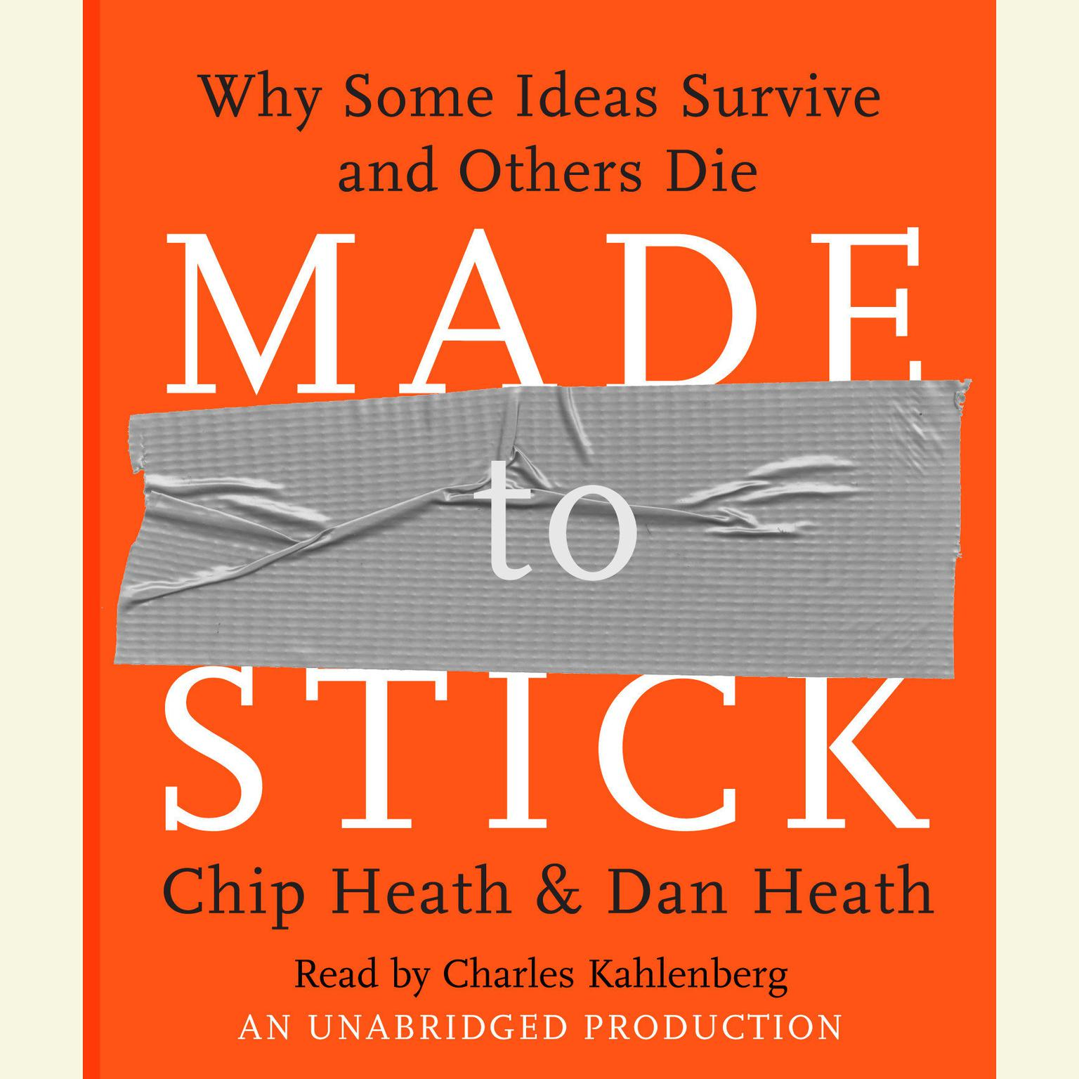 Printable Made to Stick: Why Some Ideas Survive and Others Die Audiobook Cover Art