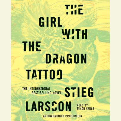 The Girl with the Dragon Tattoo Audiobook, by Stieg Larsson