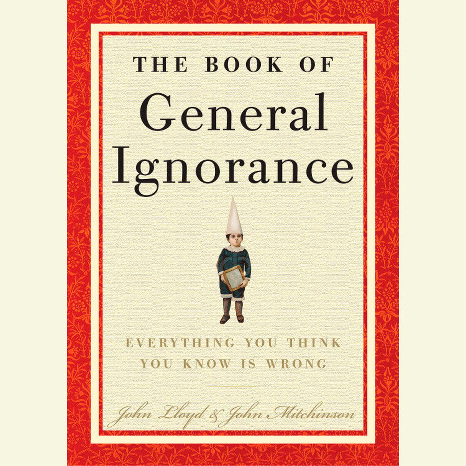 Printable The Book of General Ignorance Audiobook Cover Art
