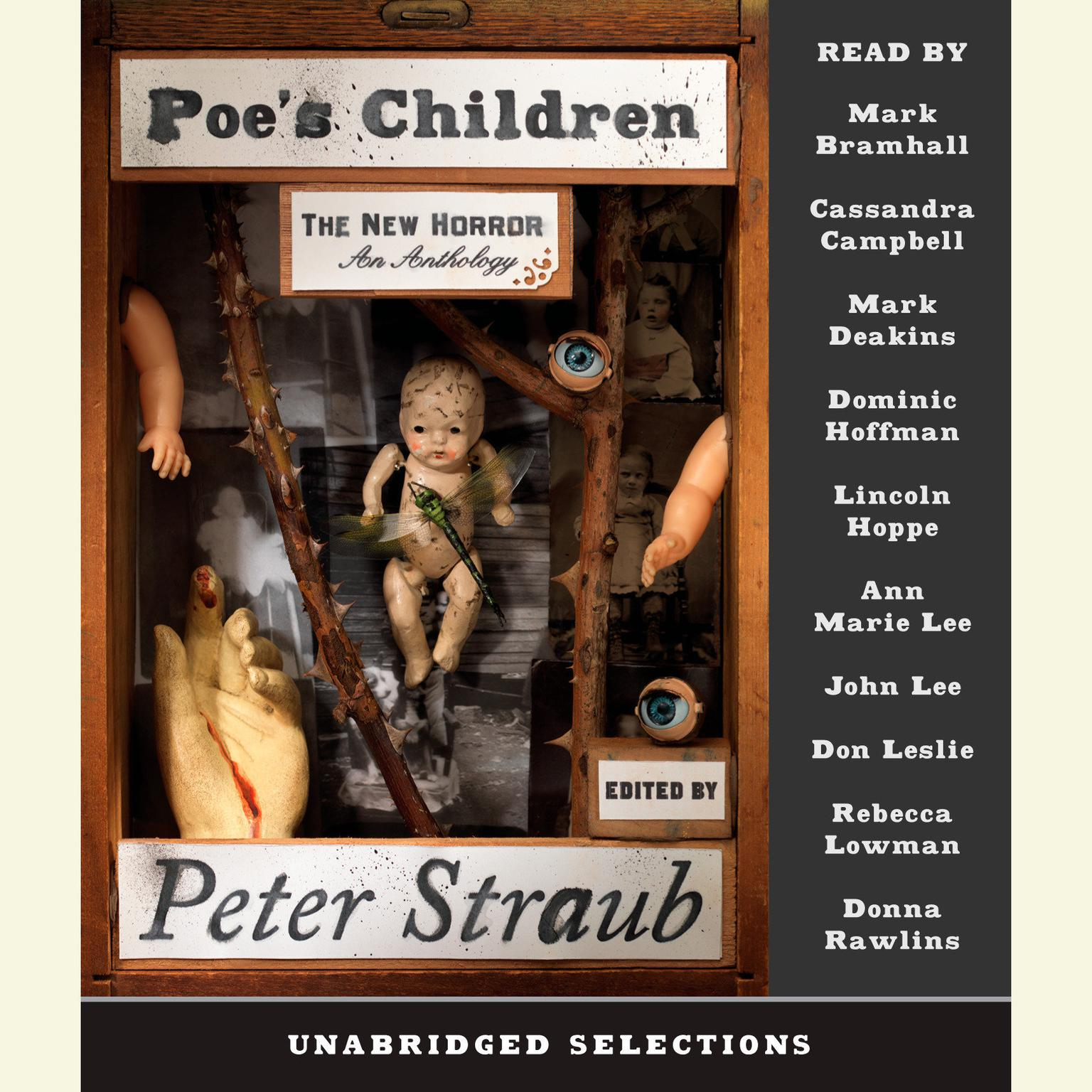 Printable Poe's Children: The New Horror: An Anthology Audiobook Cover Art