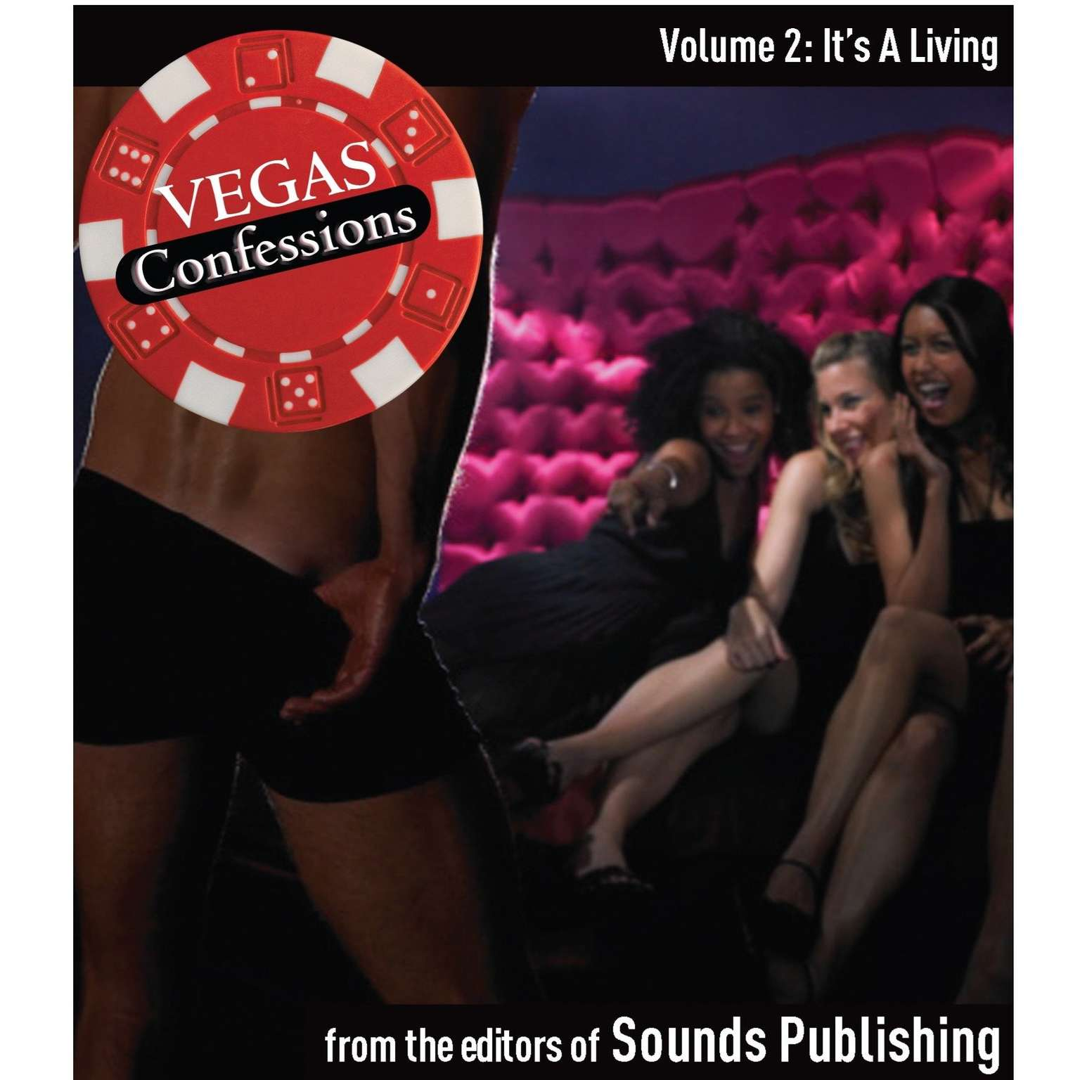 Printable Vegas Confessions 2: It's a Living Audiobook Cover Art