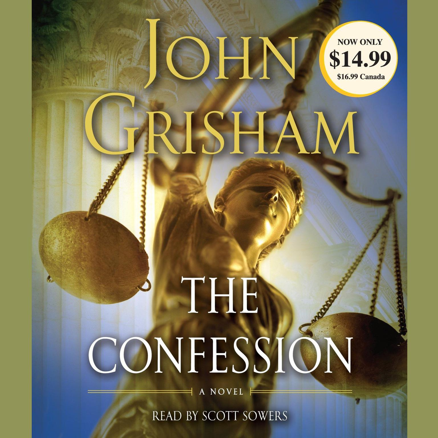 Printable The Confession: A Novel Audiobook Cover Art