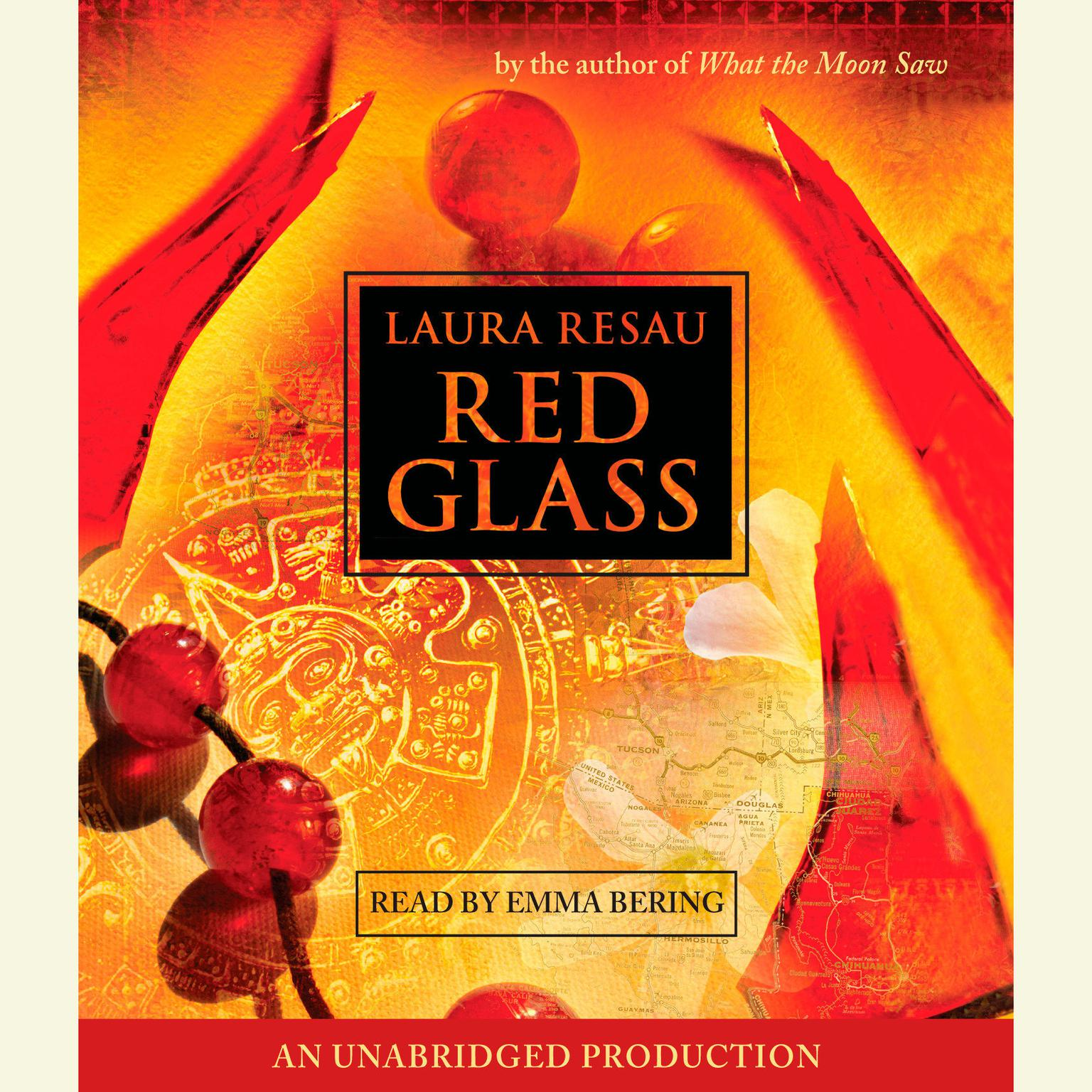 Printable Red Glass Audiobook Cover Art