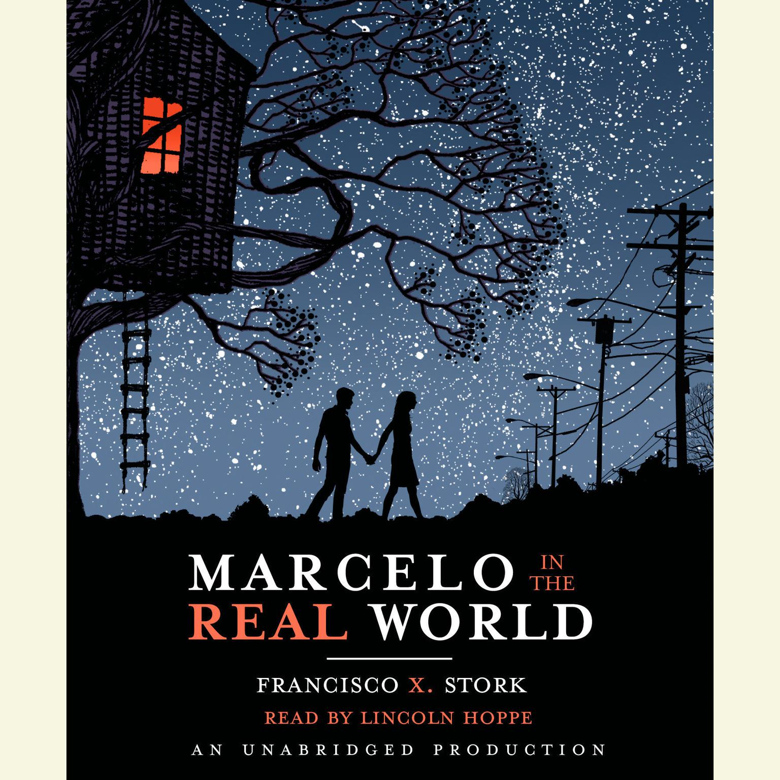 Printable Marcelo in the Real World Audiobook Cover Art