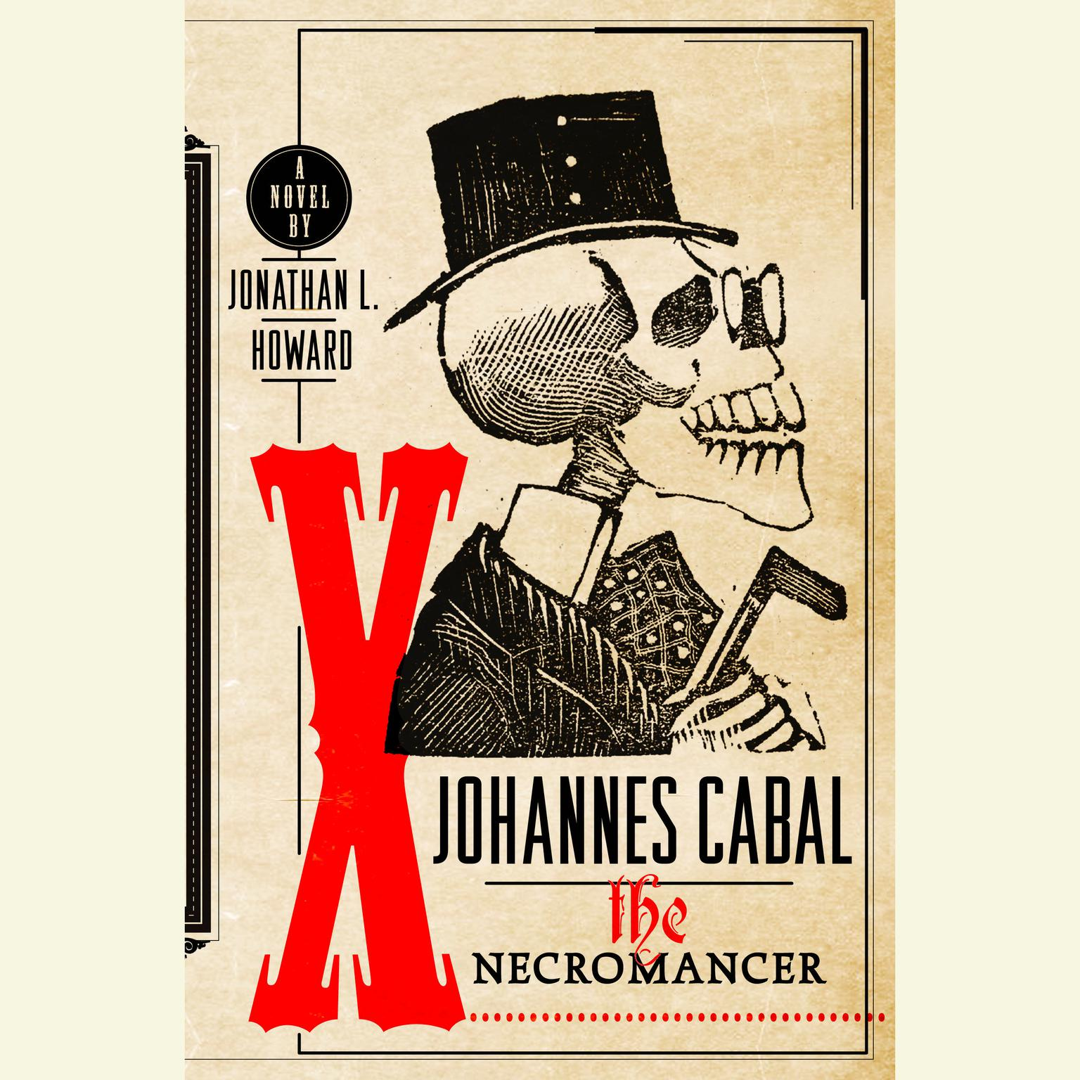 Printable Johannes Cabal The Necromancer Audiobook Cover Art