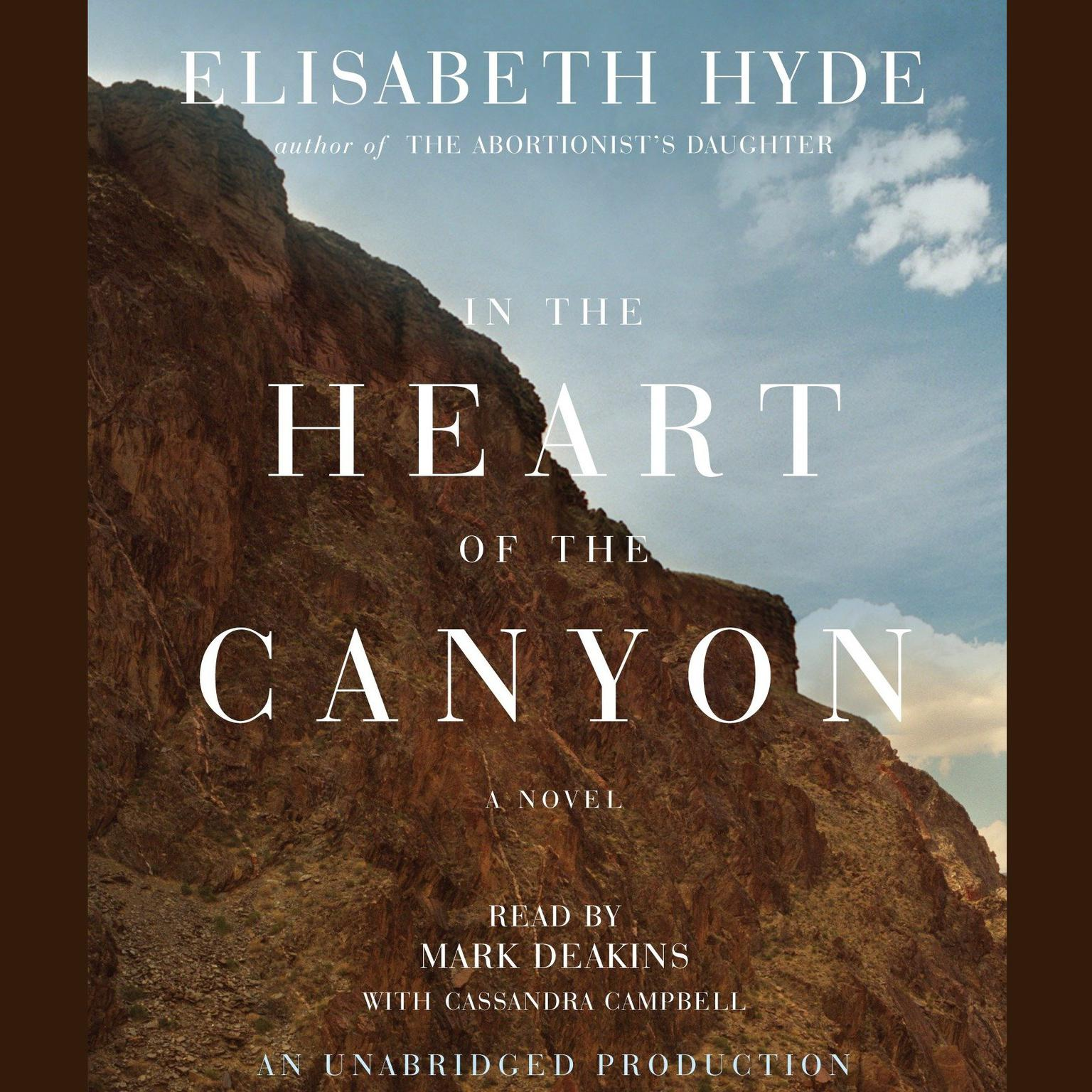 Printable In the Heart of the Canyon Audiobook Cover Art