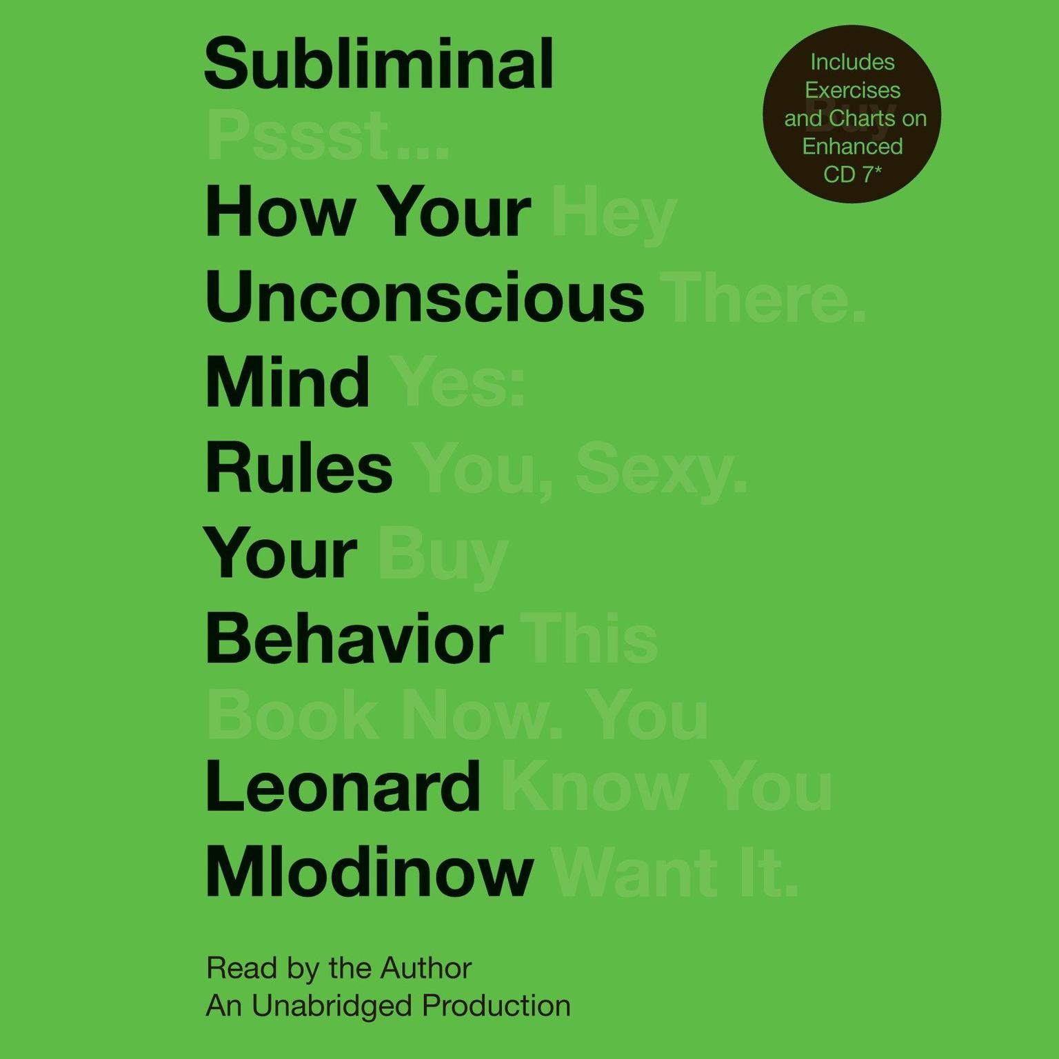 Printable Subliminal: How Your Unconscious Mind Rules Your Behavior Audiobook Cover Art